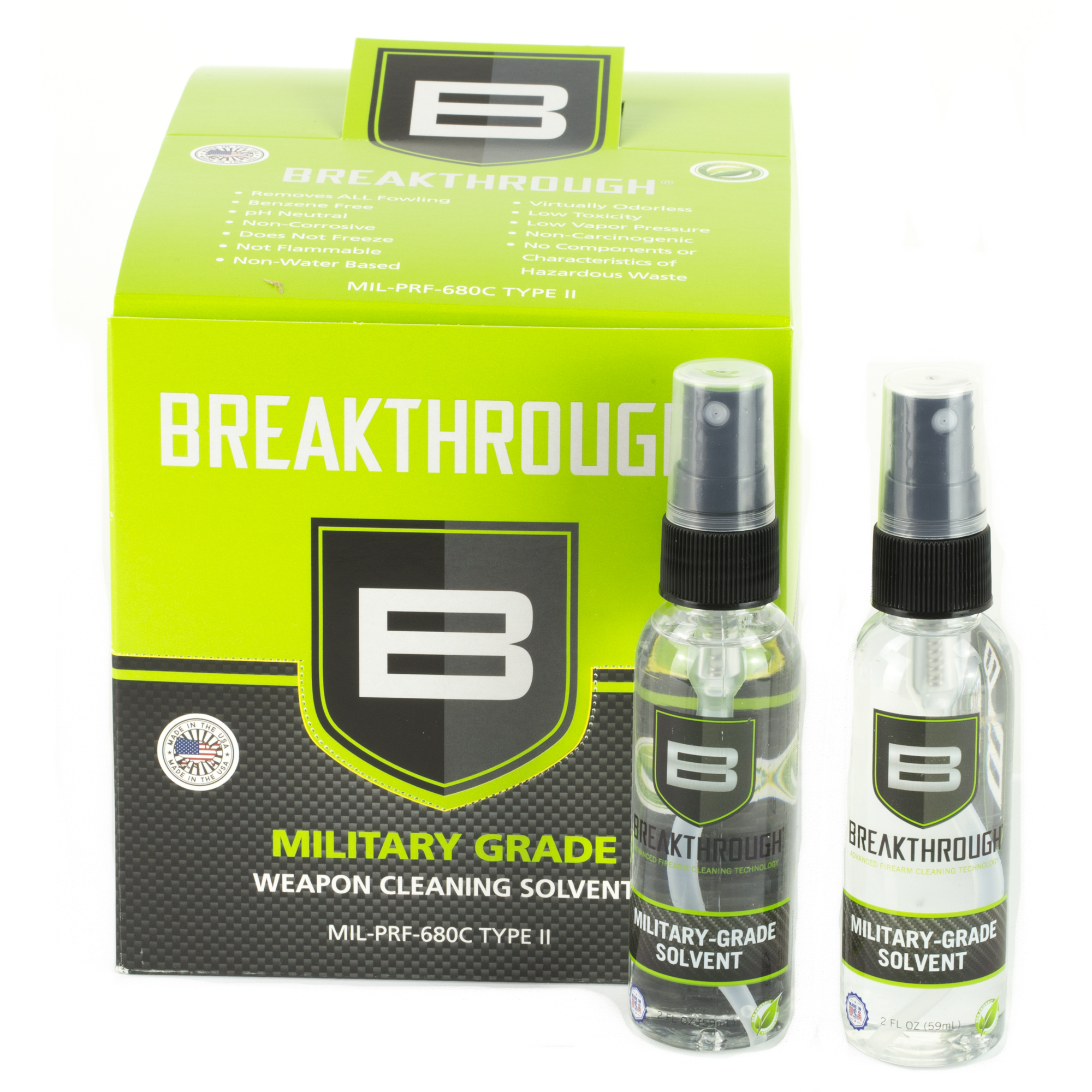 Breakthrough Mil Grd Solvnt 2oz 24pk