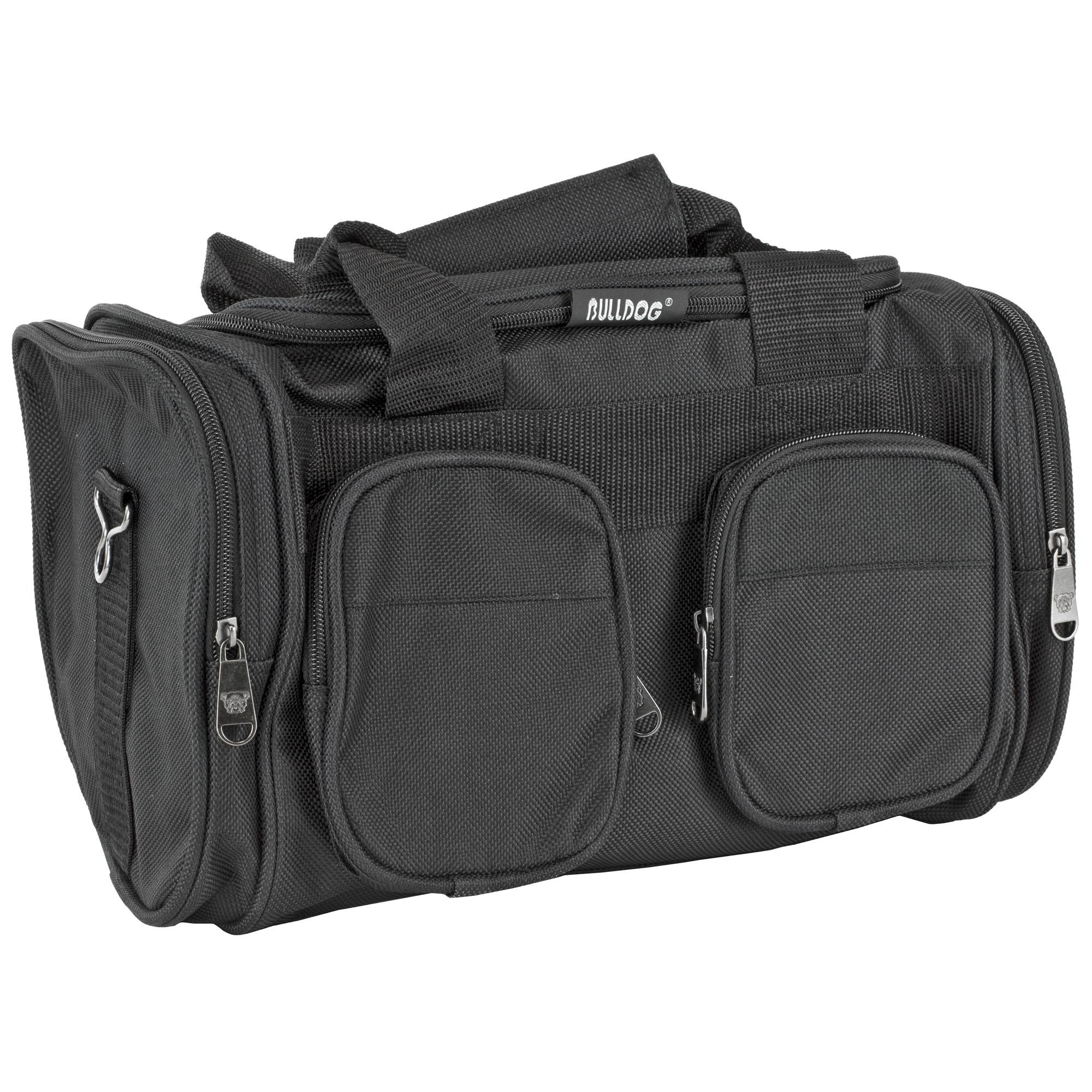 Bulldog Range Bag Econ W/strap Blk