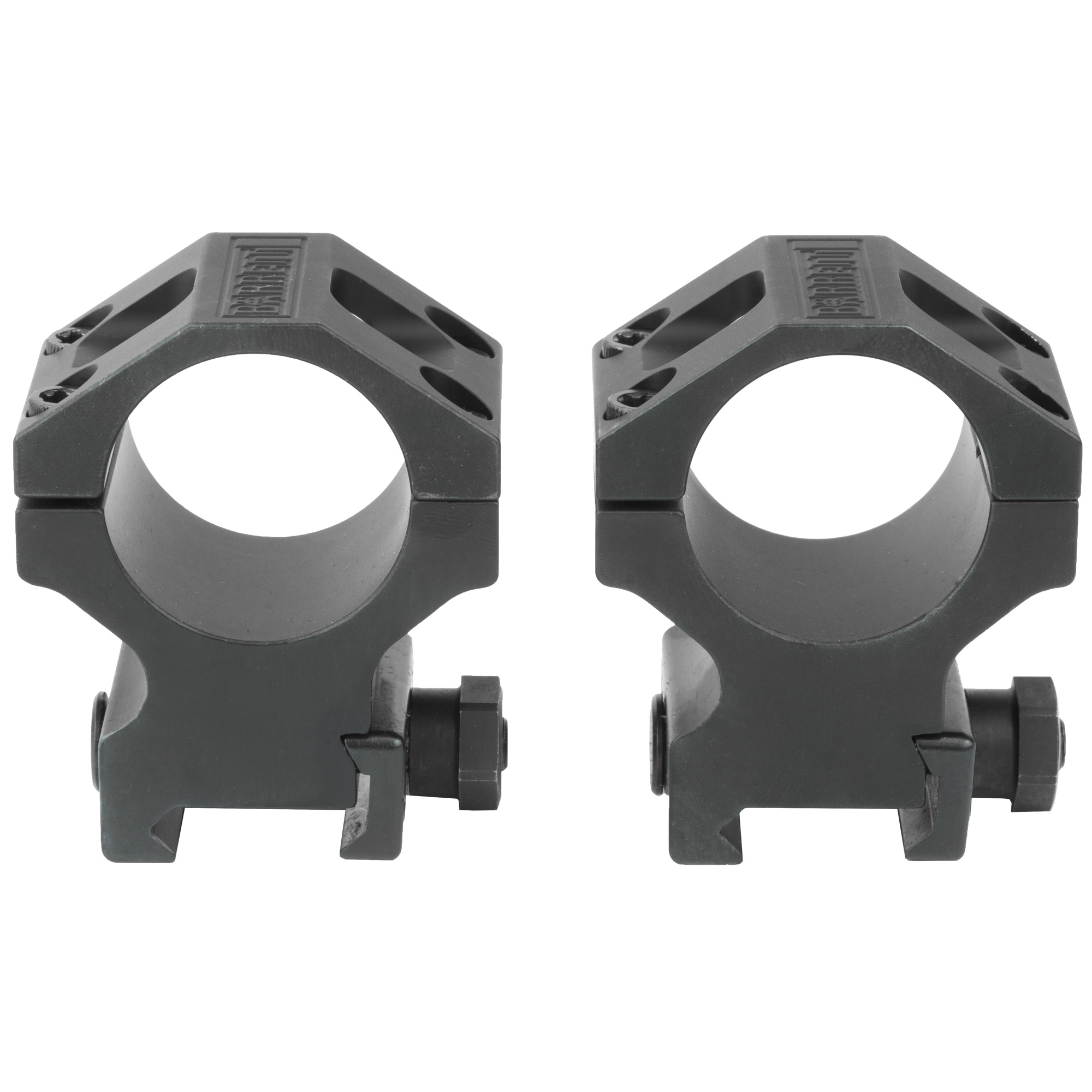 "Barrett Rings High 1.3"" 30mm Blk"