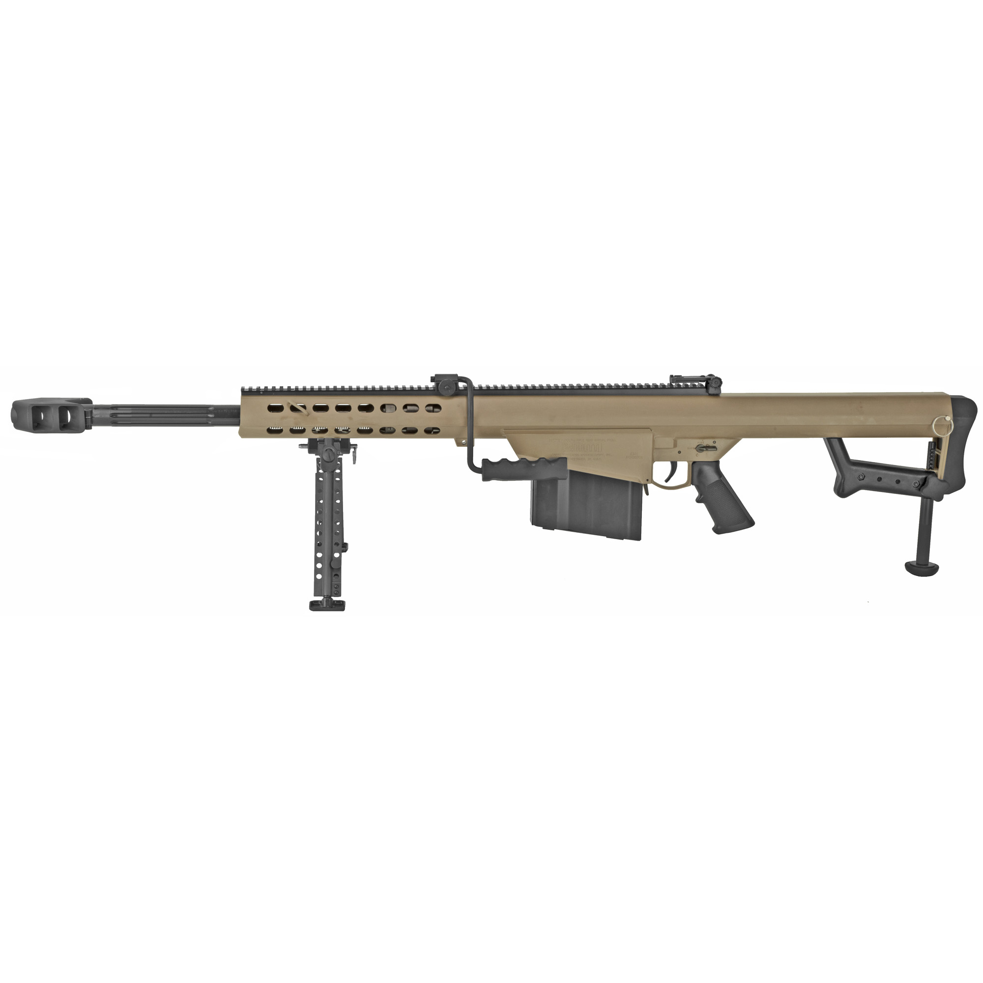 """Barrett 82a1 50bmg Semi 20"""" Fde"""