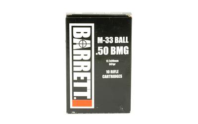 Barrett 50bmg 661gr M33 10rd/bx
