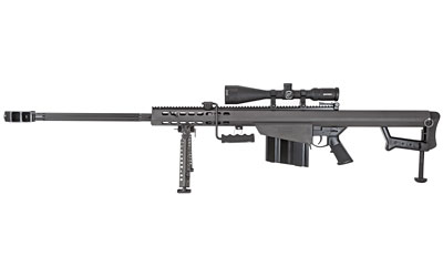 "Barrett 82a1 50bmg 29"" Blk Nf Scope"