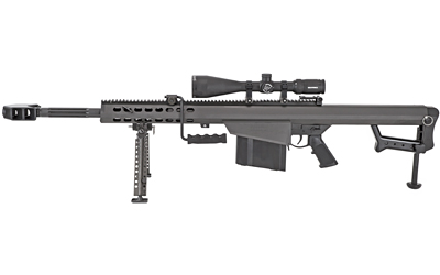 "Barrett 82a1 50bmg 20"" Blk Nf Scope"