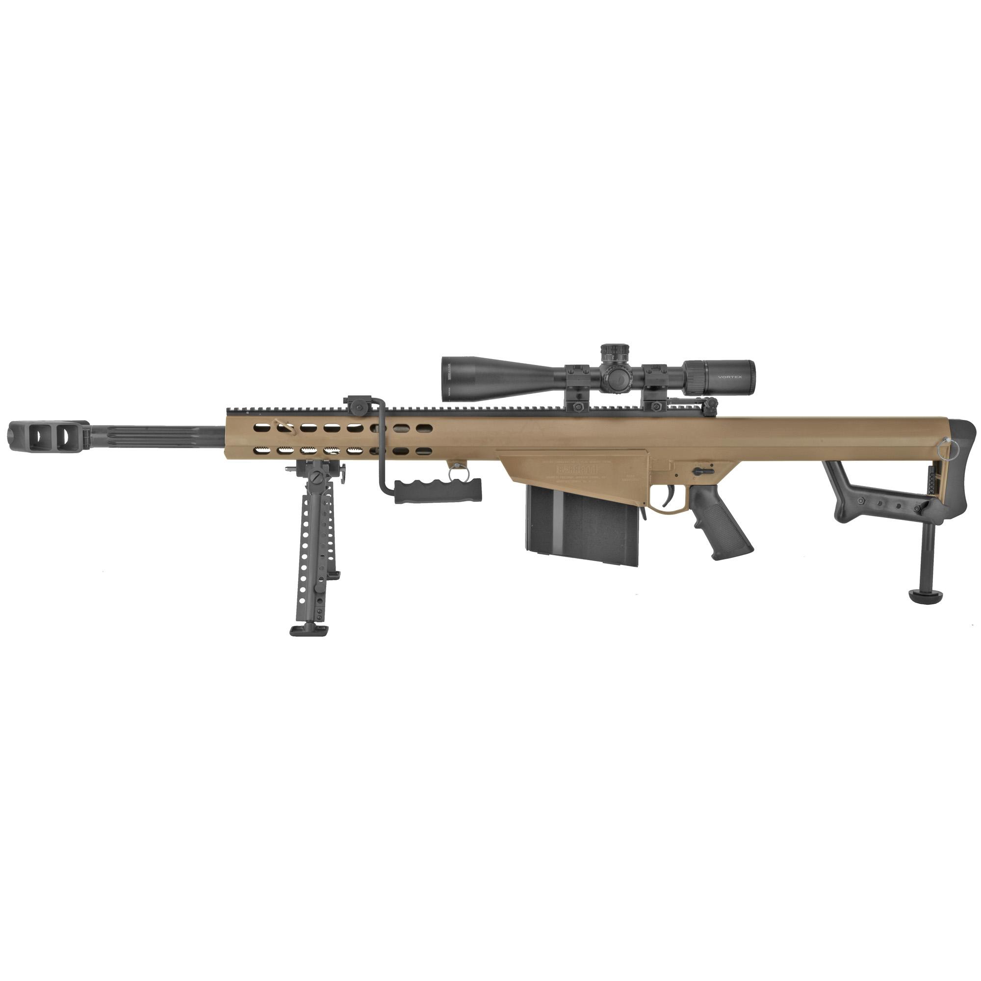 """Barrett 82a1 50bmg 20"""" Fde Combo"""