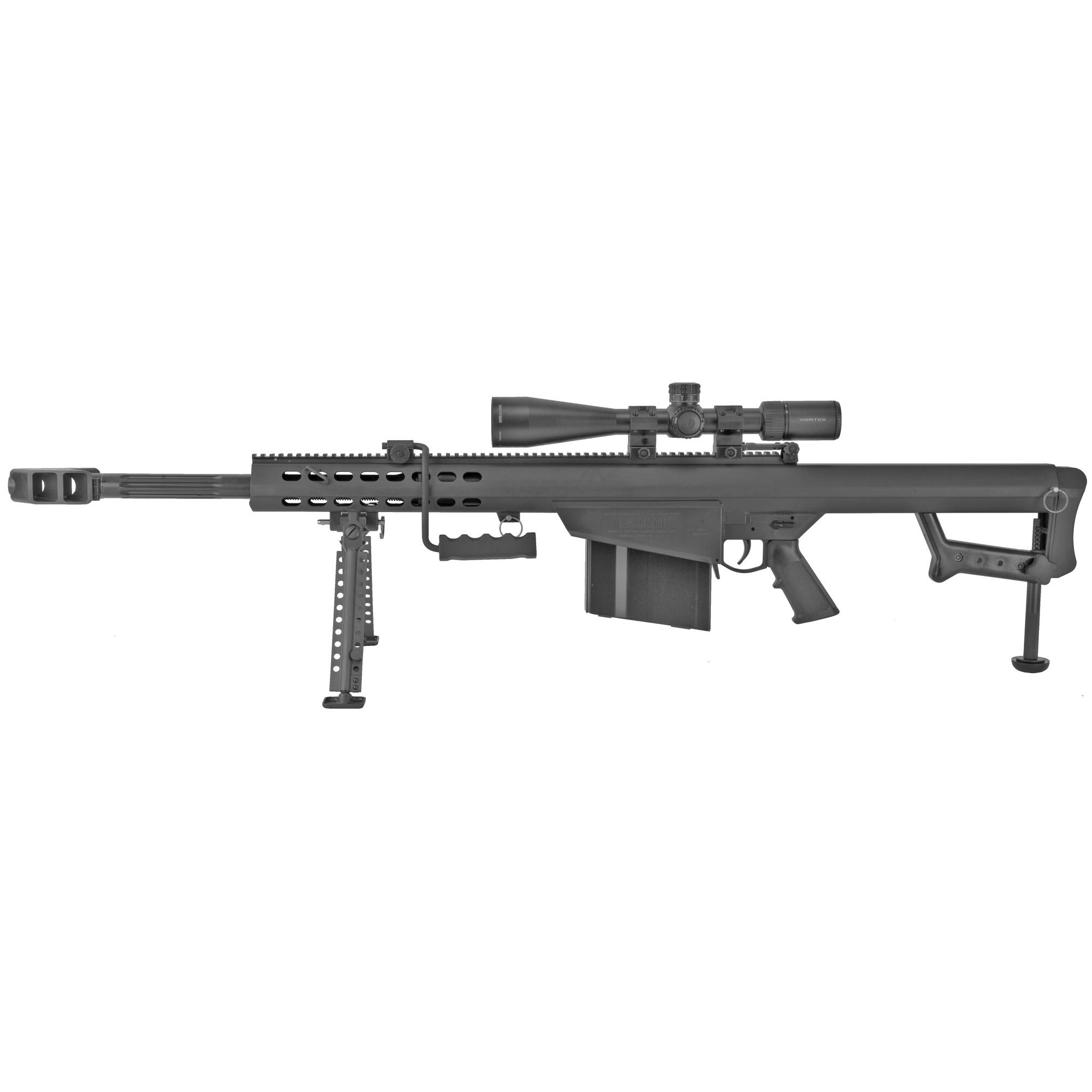 """Barrett 82a1 50bmg 20"""" Blk Combo"""