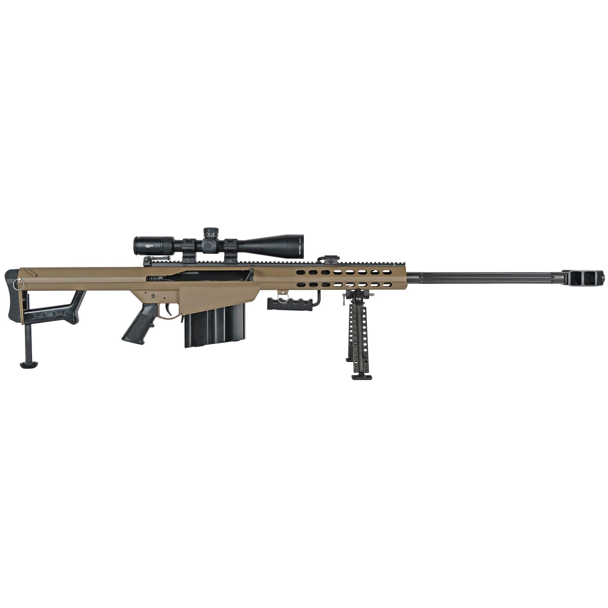 """Barrett 82a1 50bmg 29"""" Fde Combo"""