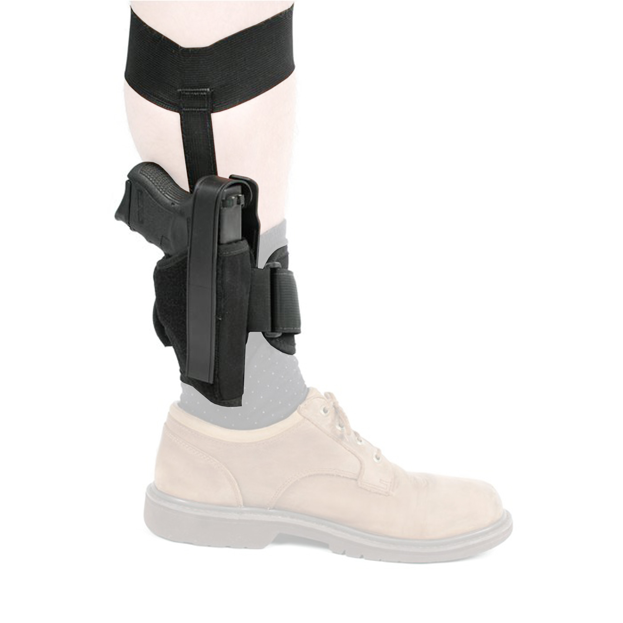 Bh Ankle Hlstr Sz 0 Rh Blk