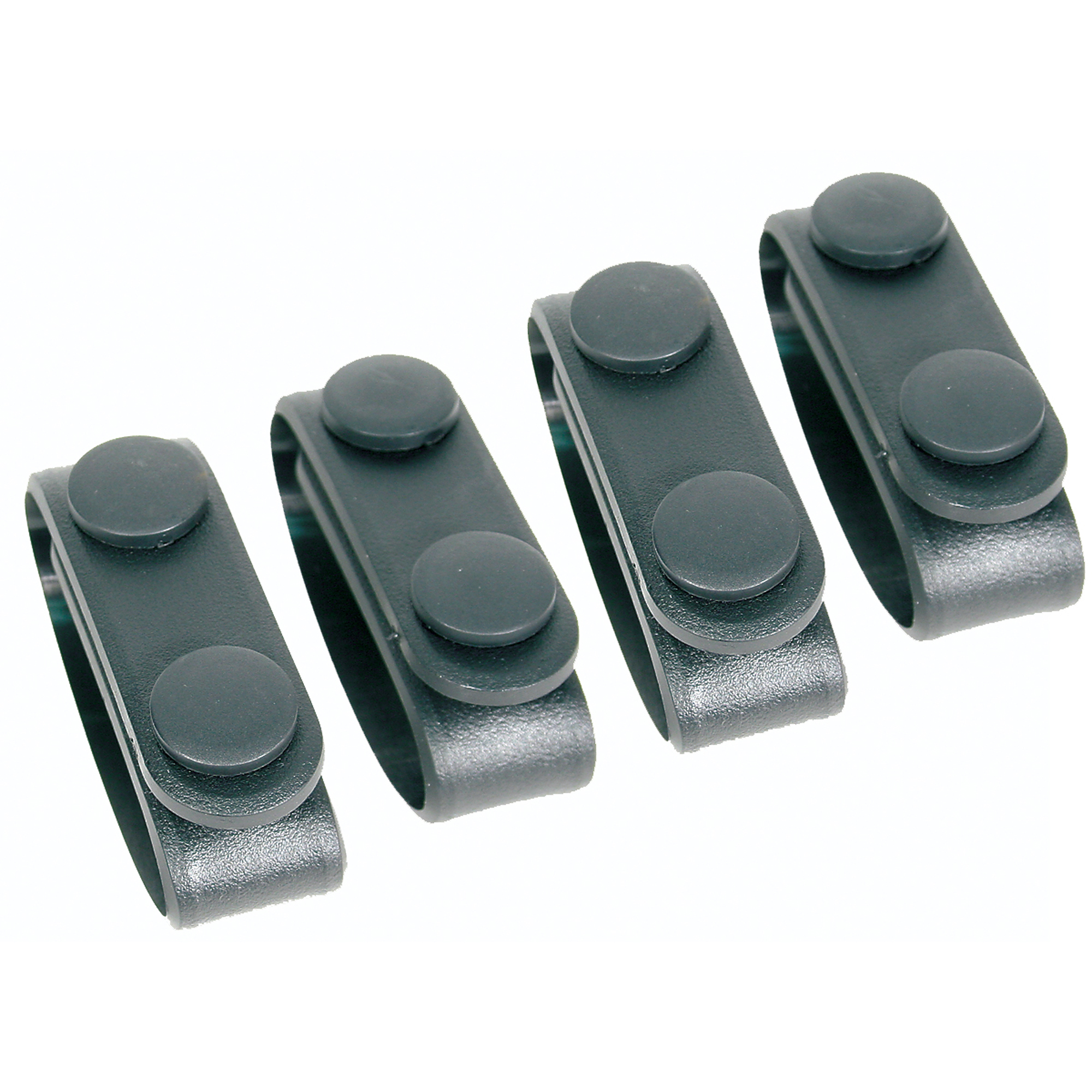 Bh Molded Blt Keepers (4) Blk