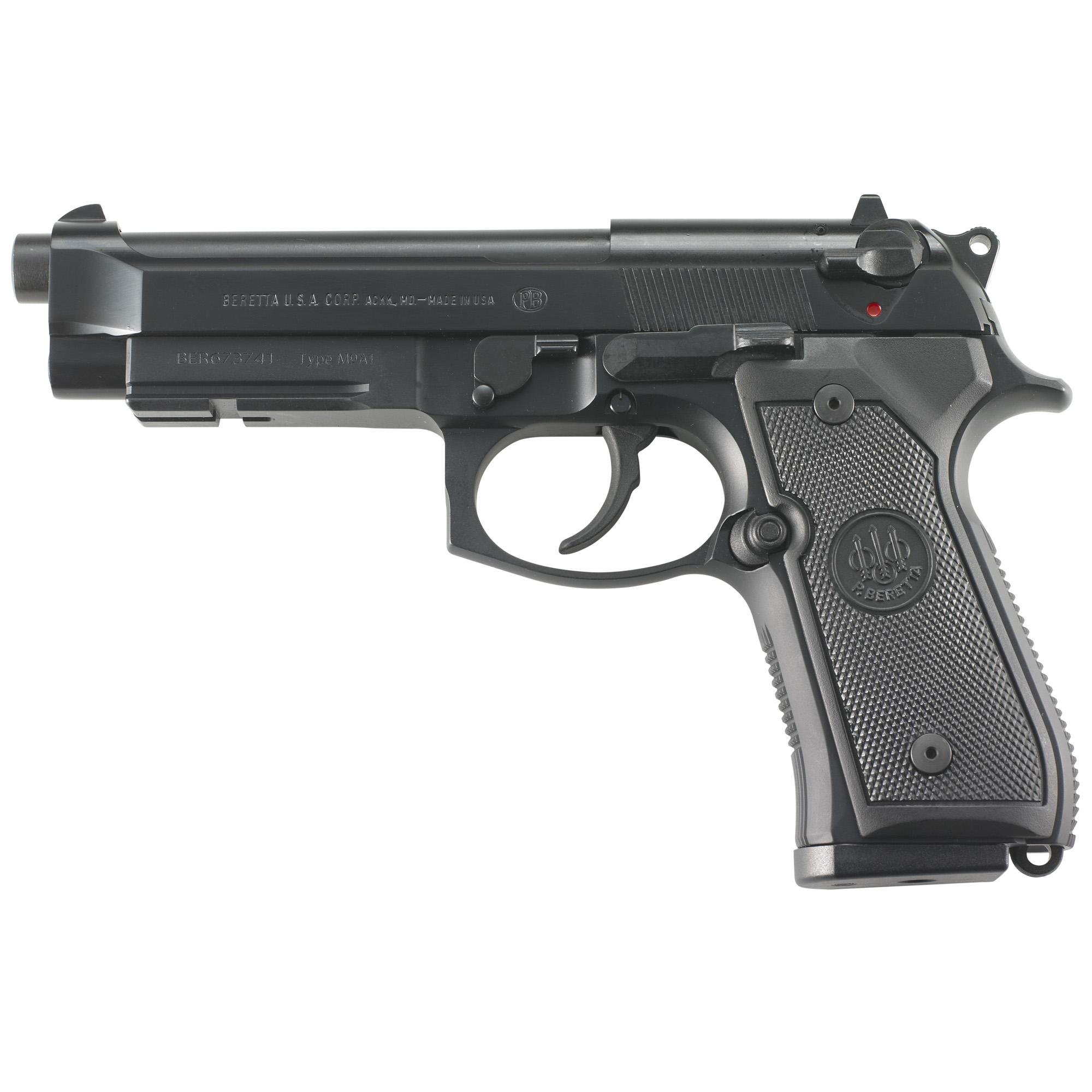"""Beretta M9a1 9mm 4.9"""" Bl 2-10rd"""