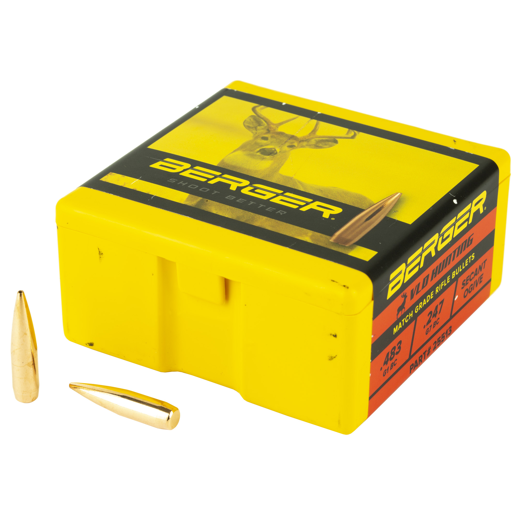 Berger .257 115g Hunt Vld 100ct