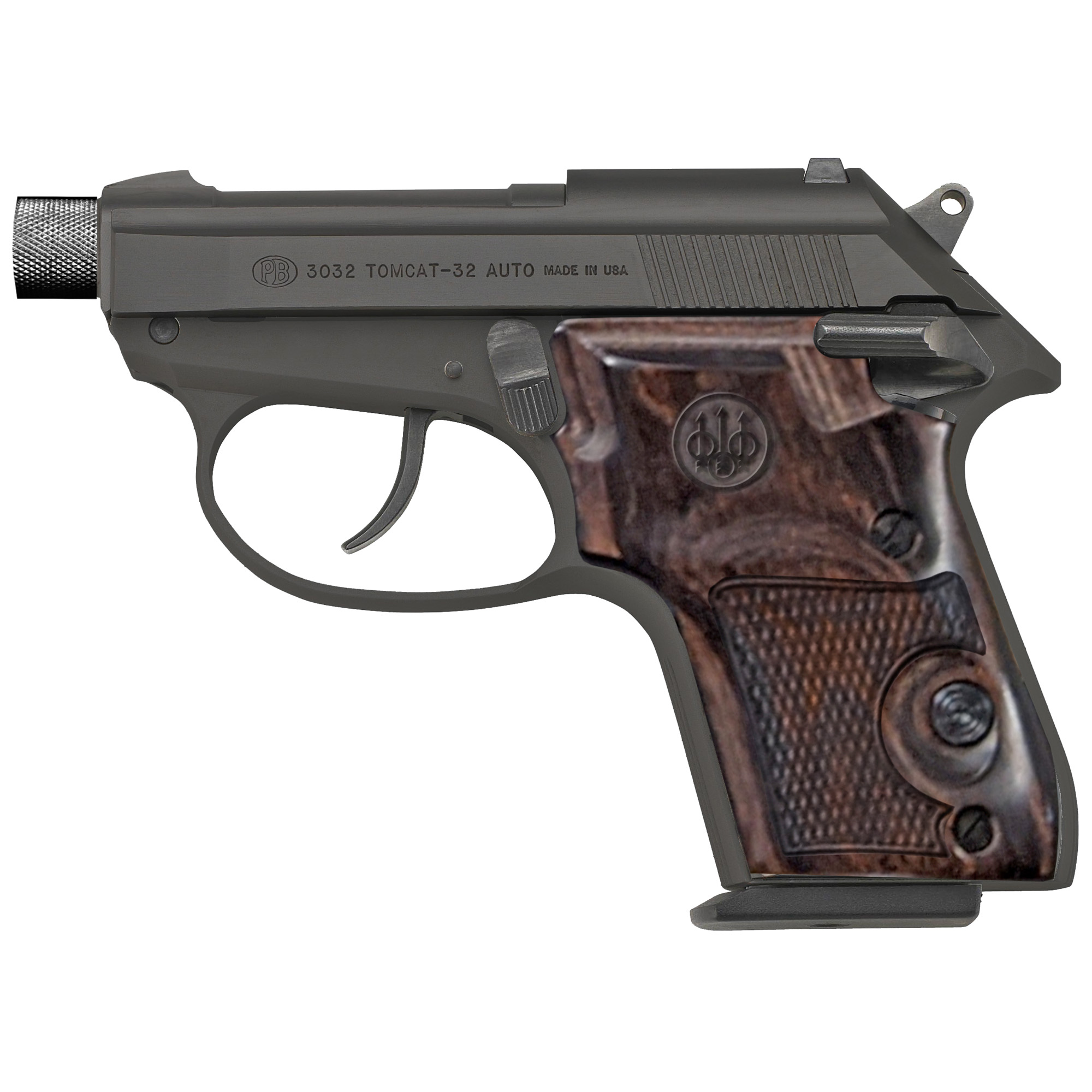 "Beretta 3032 32acp 2.9"" Th 7rd Blk"
