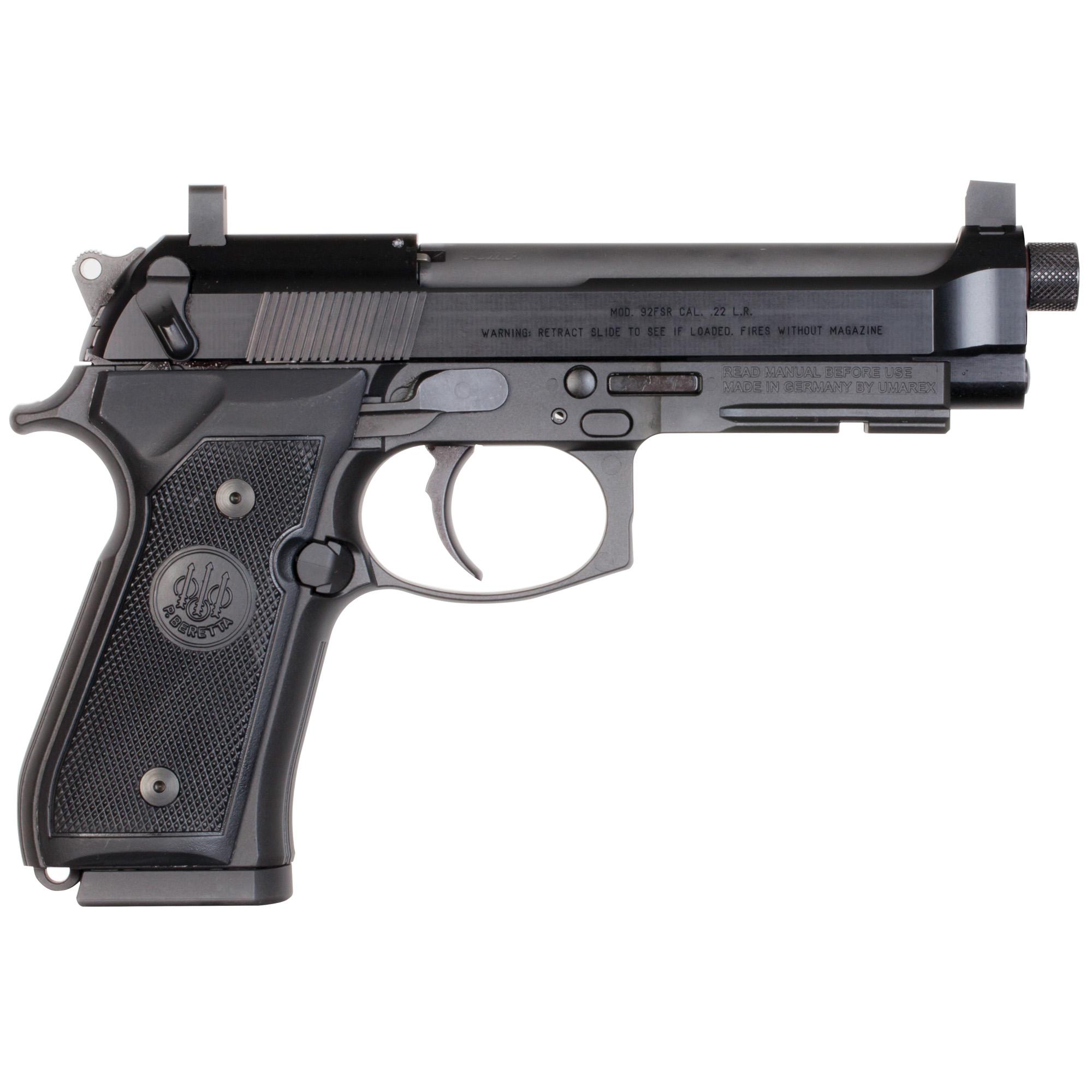 Beretta 92fsr 22lr 2-15rd Supr Rdy K