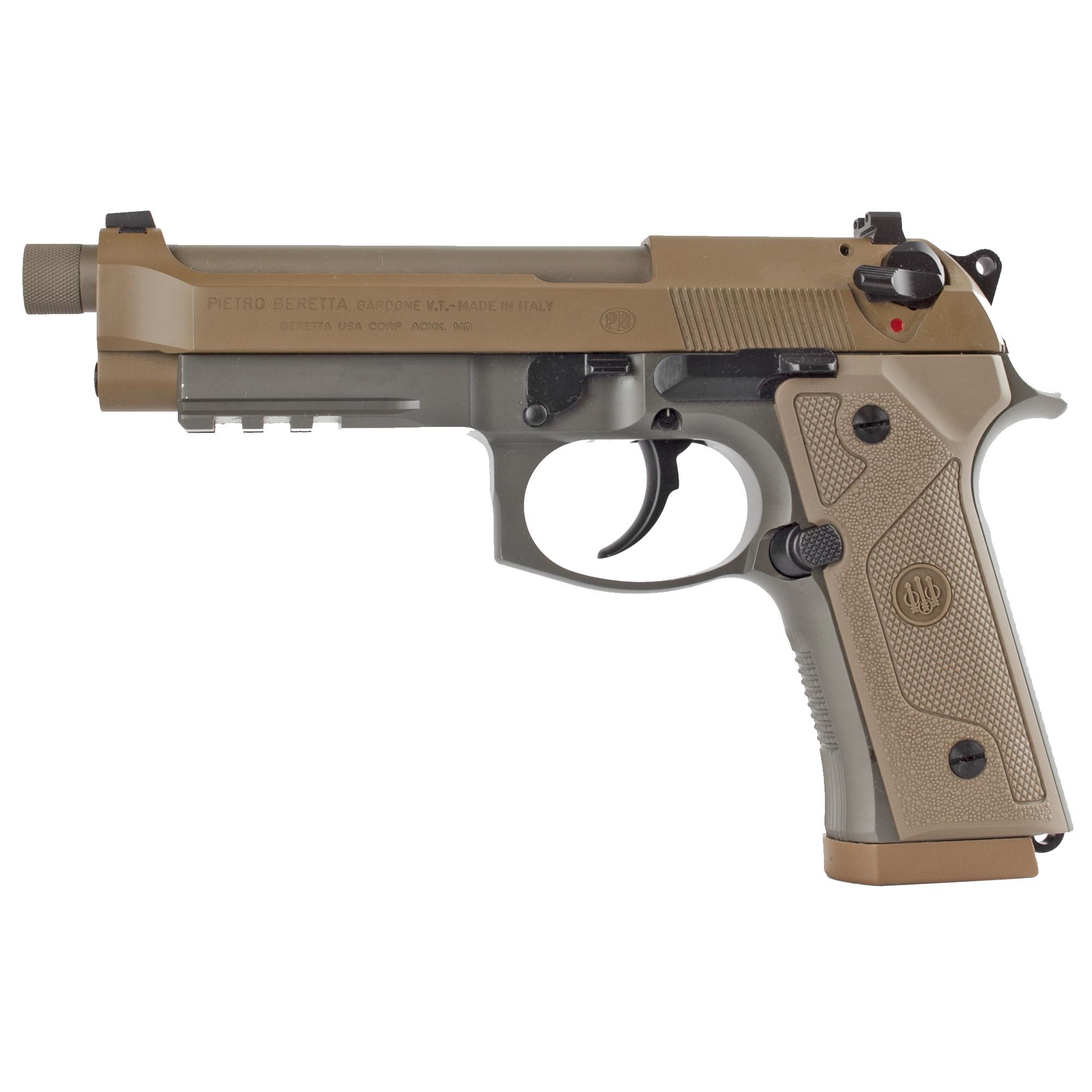 """Beretta M9a3-g 9mm 5"""" 10rd Fde Dec"""