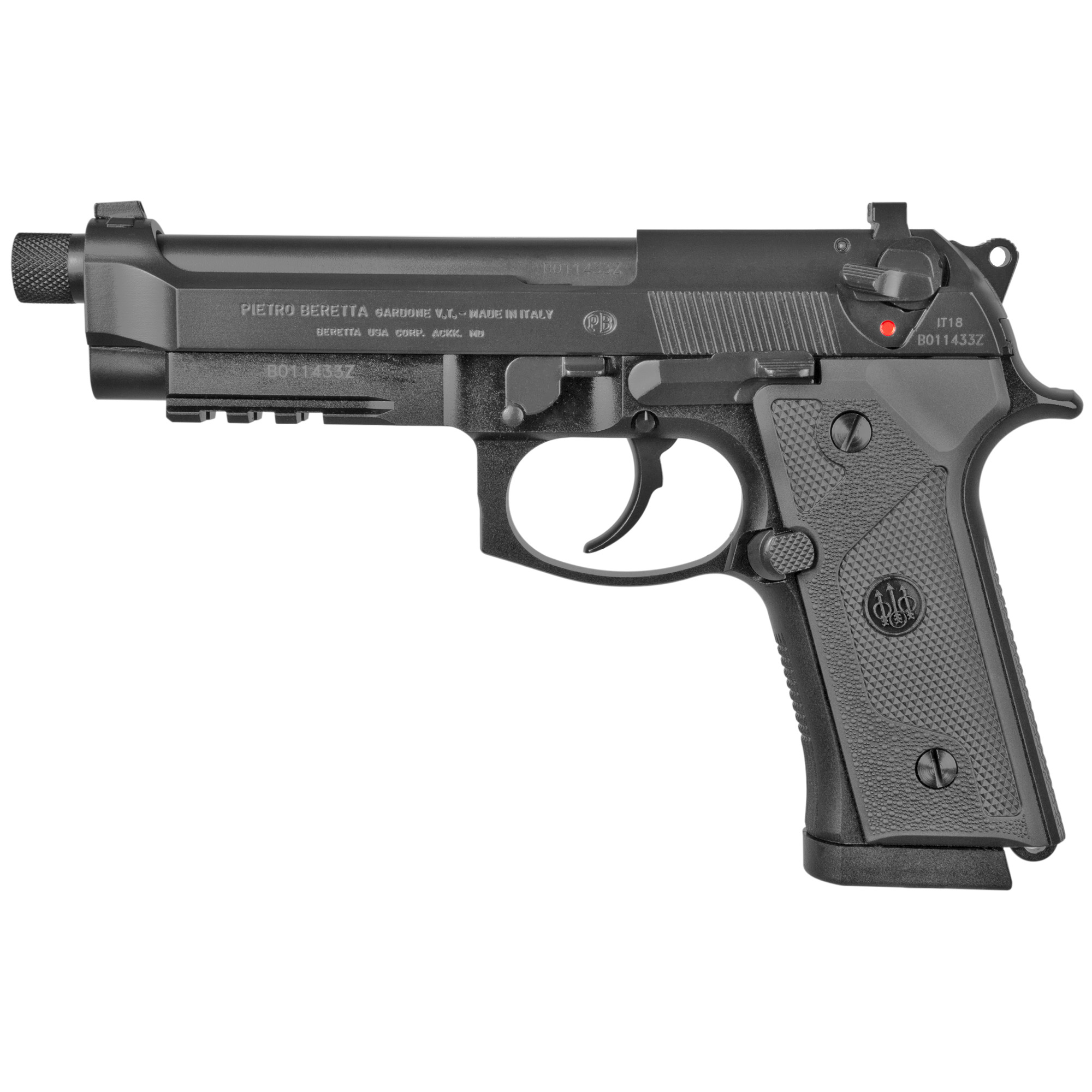 """Beretta M9a3 9mm 5"""" 17rd Blk 3mags"""