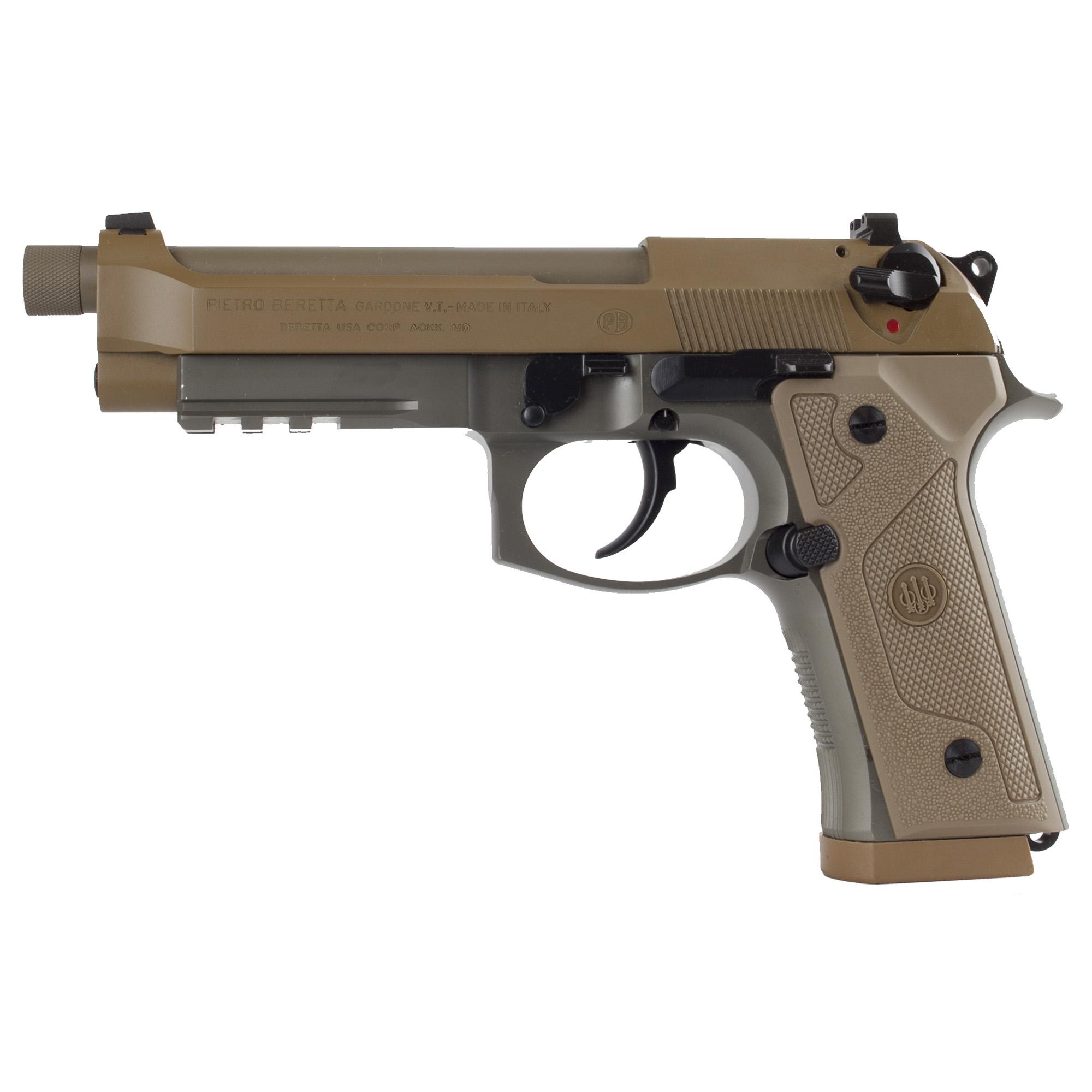 """Beretta M9a3 9mm 5"""" 17rd Fde 3mags"""