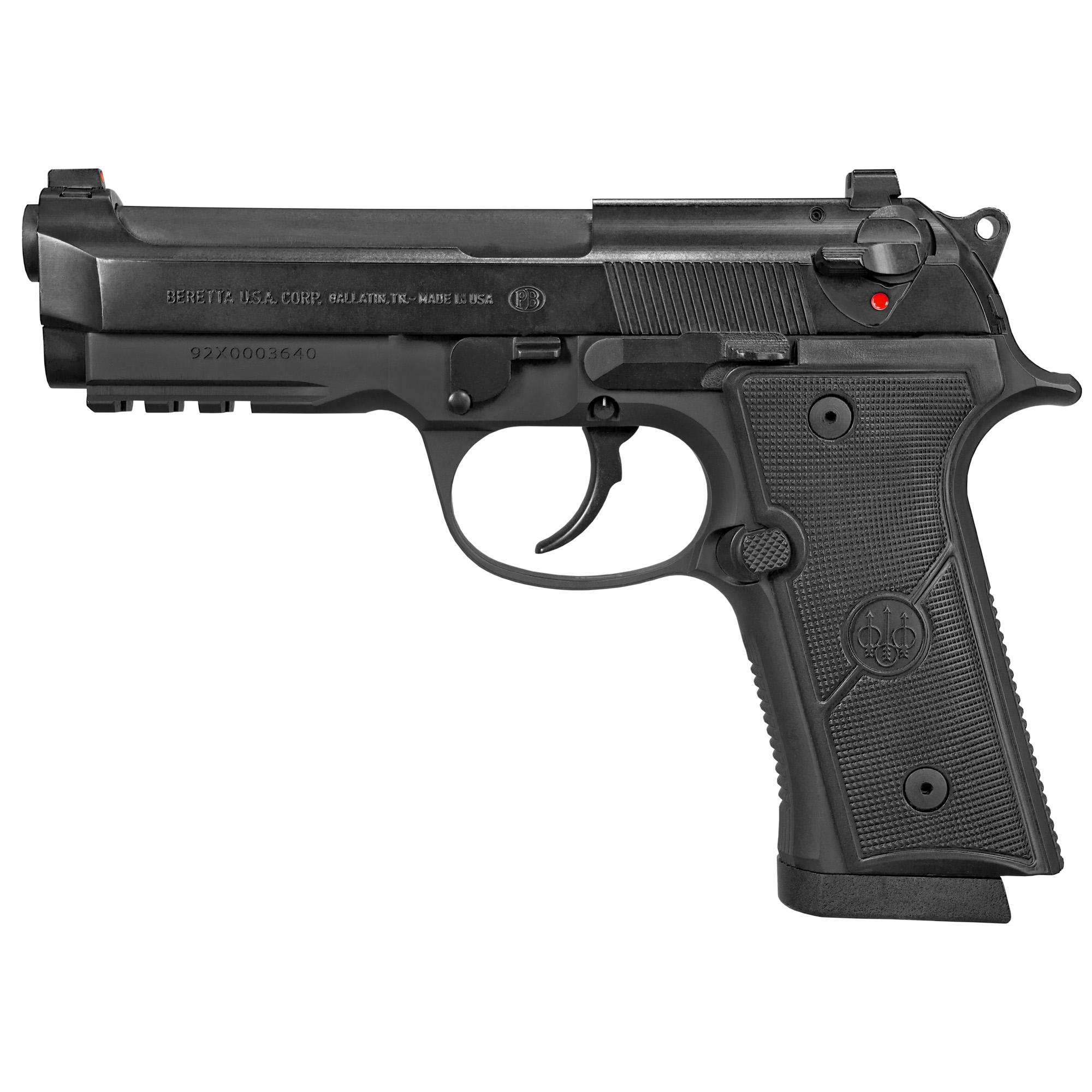 """Beretta 92x Gr Cent 9mm 4.3"""" 10rd"""