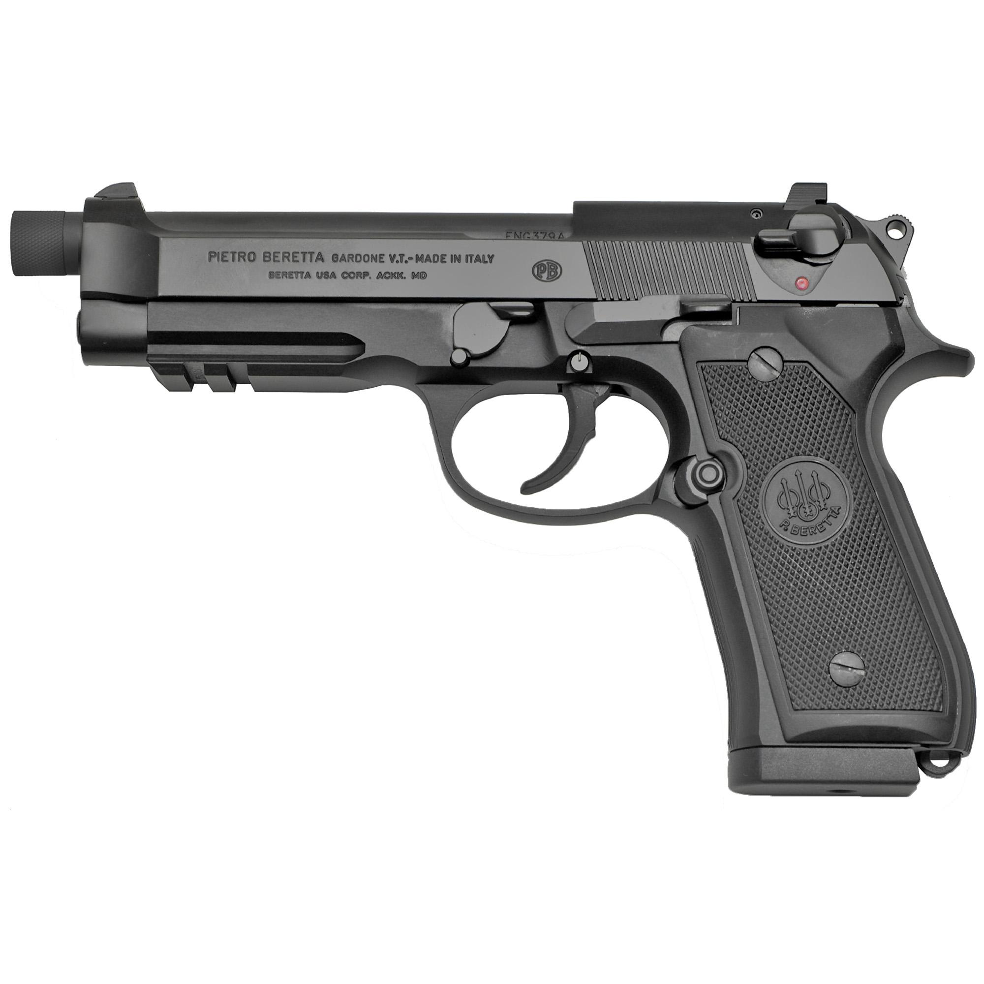 """Beretta 92a1 9mm 4.7"""" 3-17rd M14x1rh"""