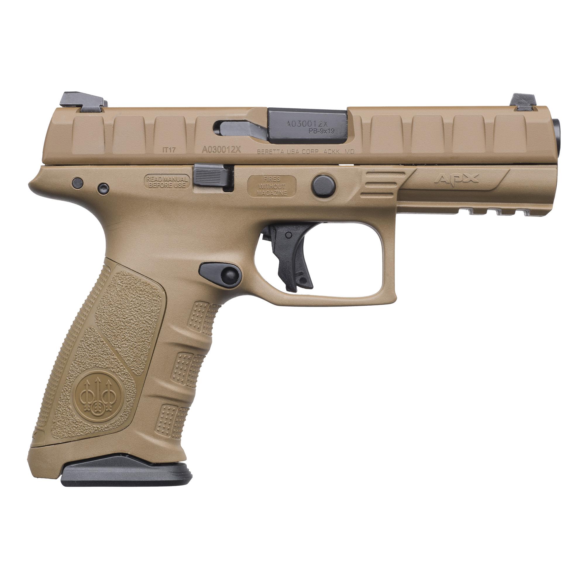 """Beretta Apx 9mm 4.25"""" Fde 15rd"""
