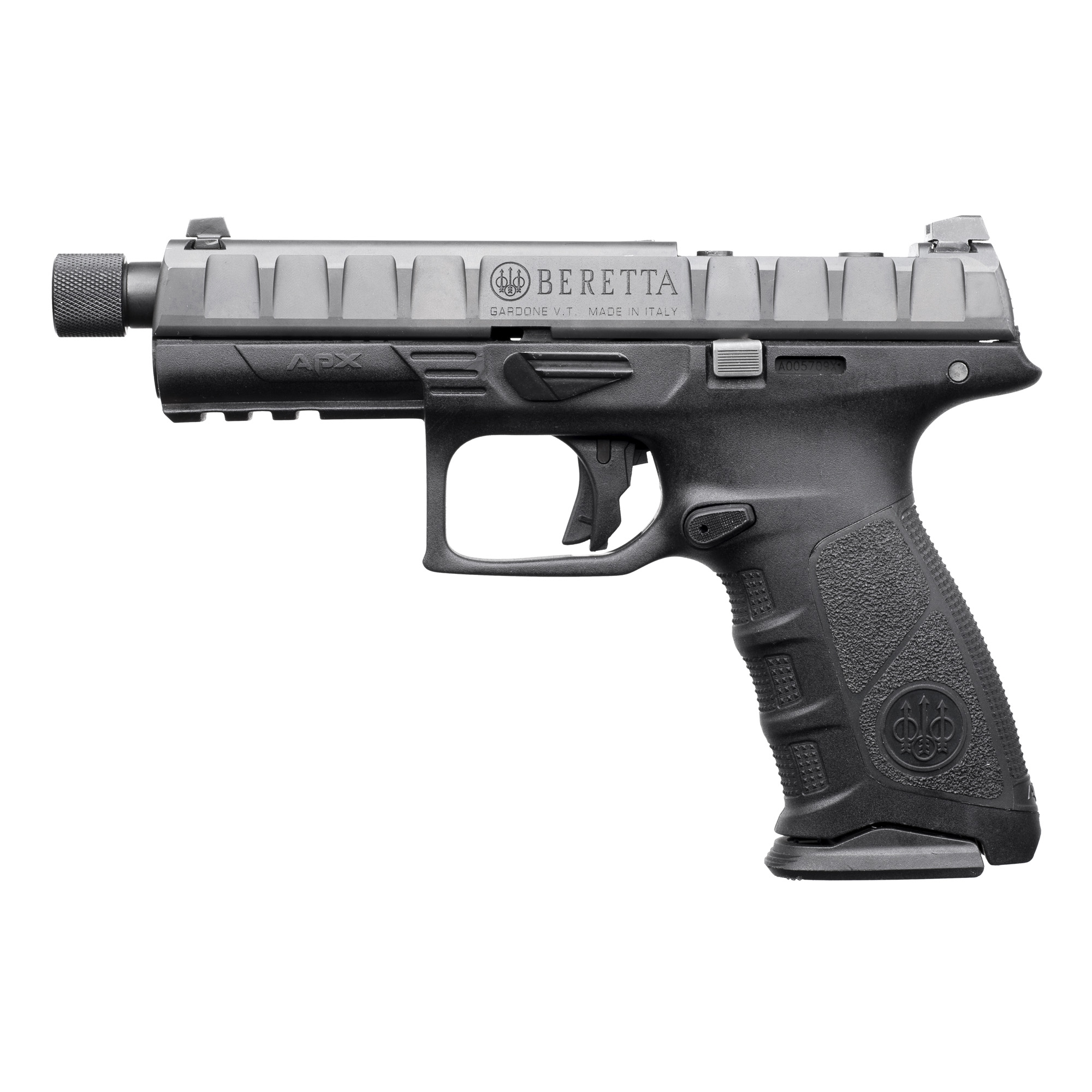 "Beretta Apx Combat 9mm 4.9"" Bl 17rd"