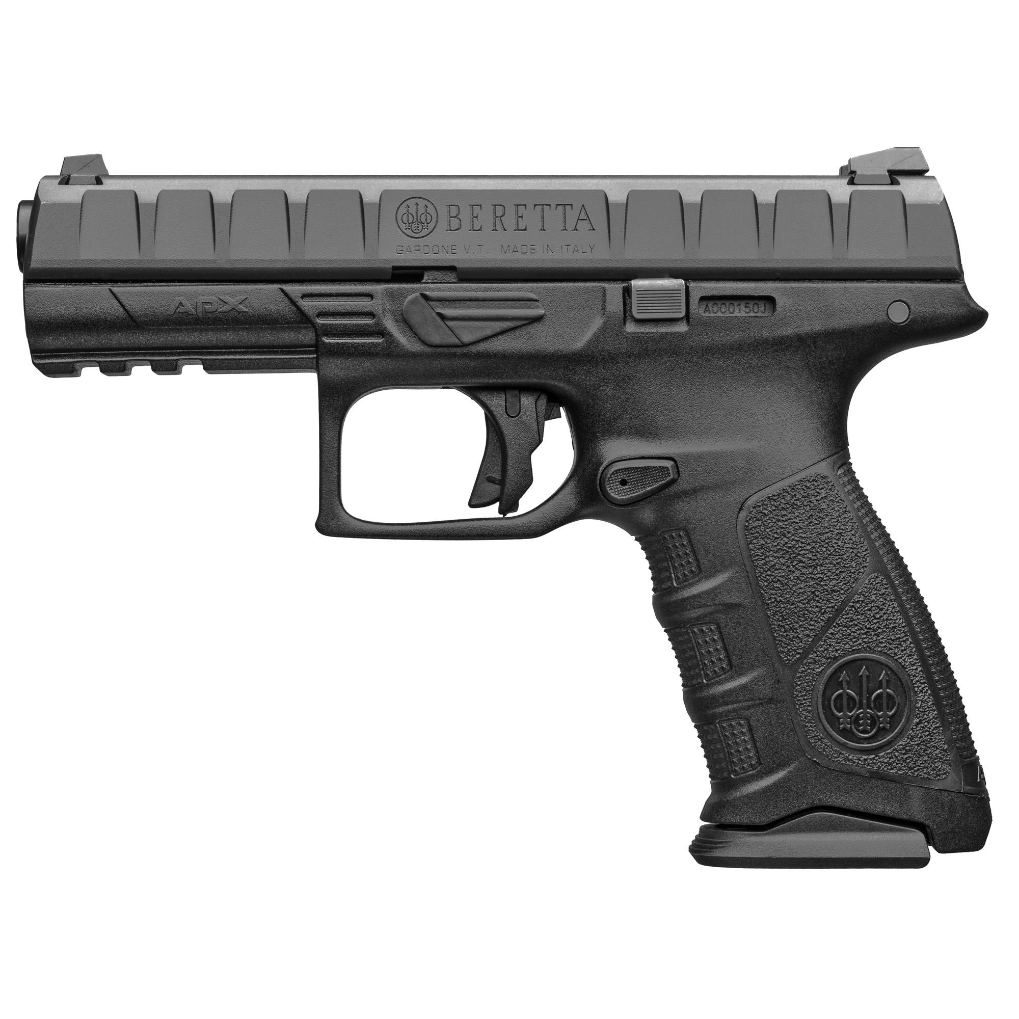 "Beretta Apx 9mm 4.25"" Blk 17rd Blem"