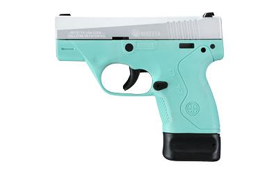 "Beretta Nano 9mm 3"" 6&8rd Reb 3 Dot"