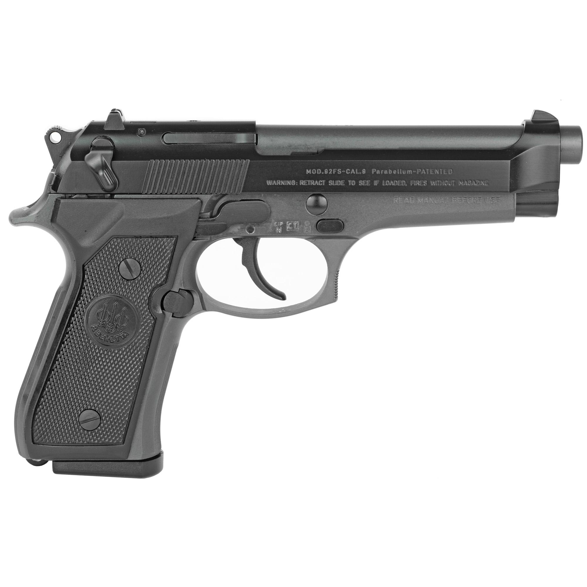 """Beretta 92fs 9mm 4.9"""" 2-10rd Gray"""
