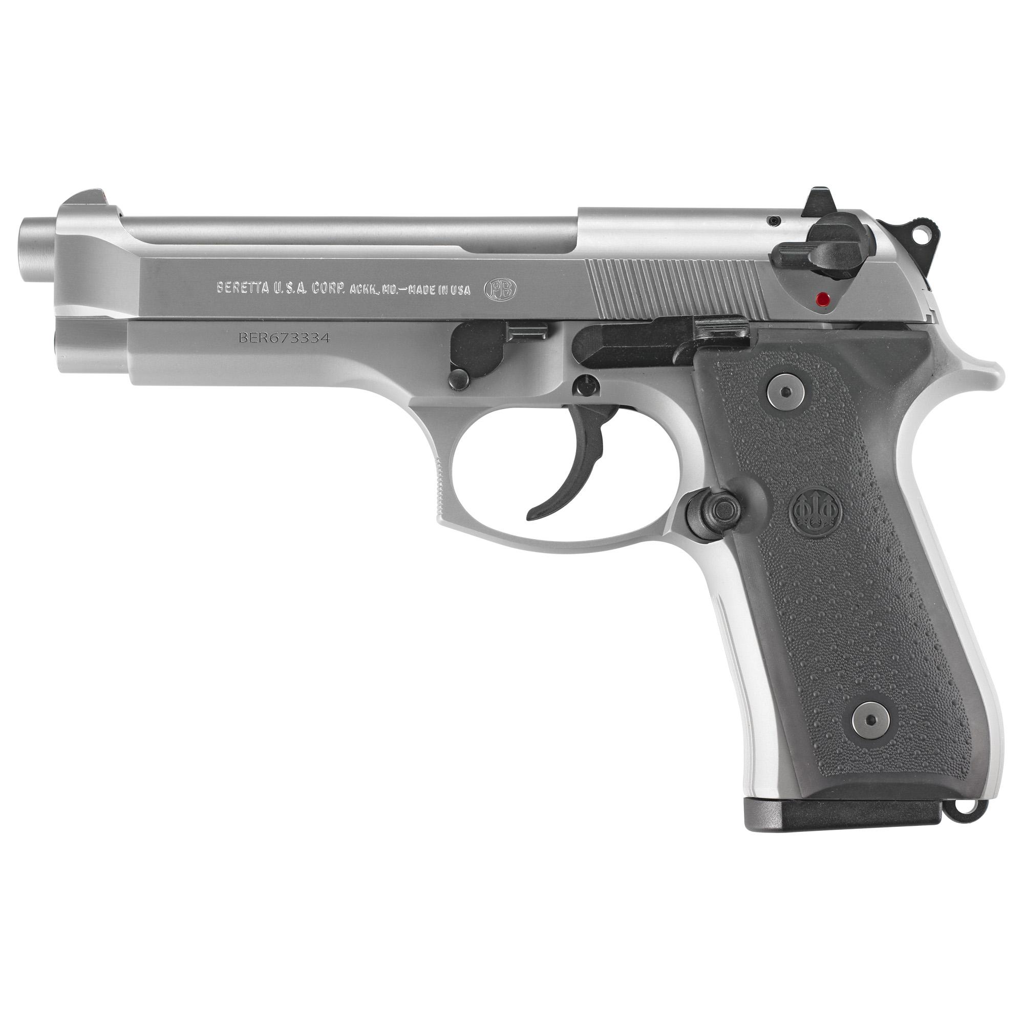 Beretta 92fs Inox 9mm 2-15rd