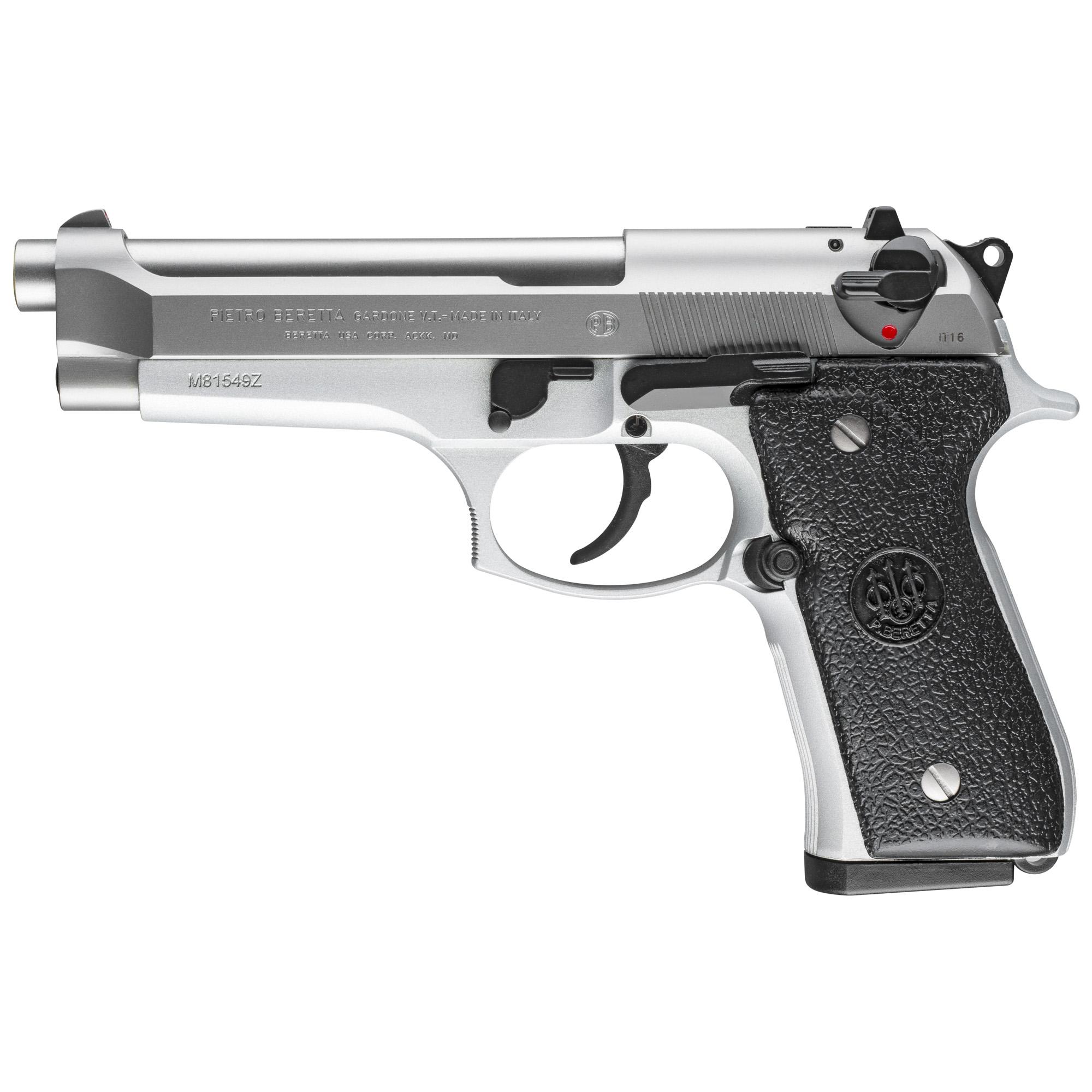 """Beretta 92fs 9mm 4.9"""" St 2-10rd It"""