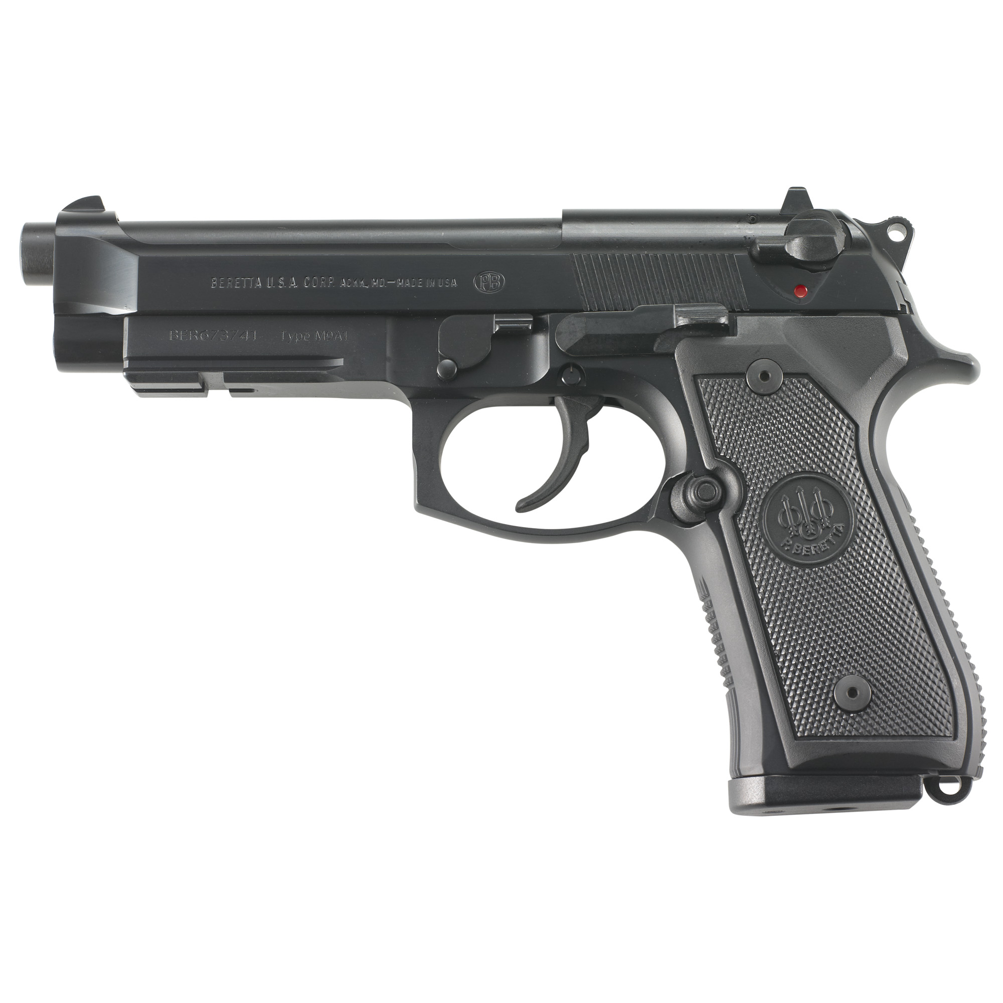 "Beretta M9a1 Ca 9mm 4.9"" 10rd Blk"