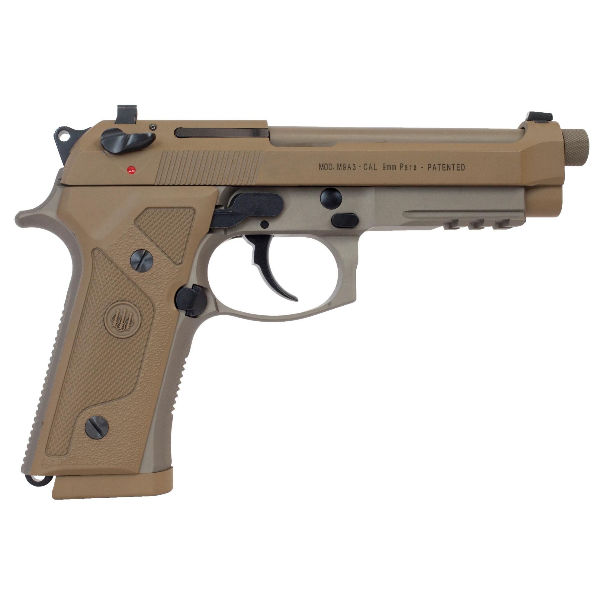 """Beretta M9a3-g 9mm 4.9"""" 17rd Fde Dec"""