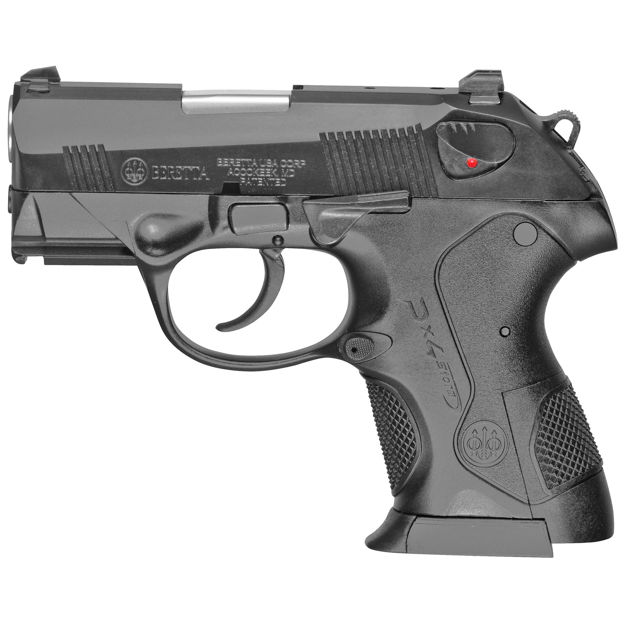 """Beretta Px4 Storm 9mm 3"""" Bl Sub-cmp"""