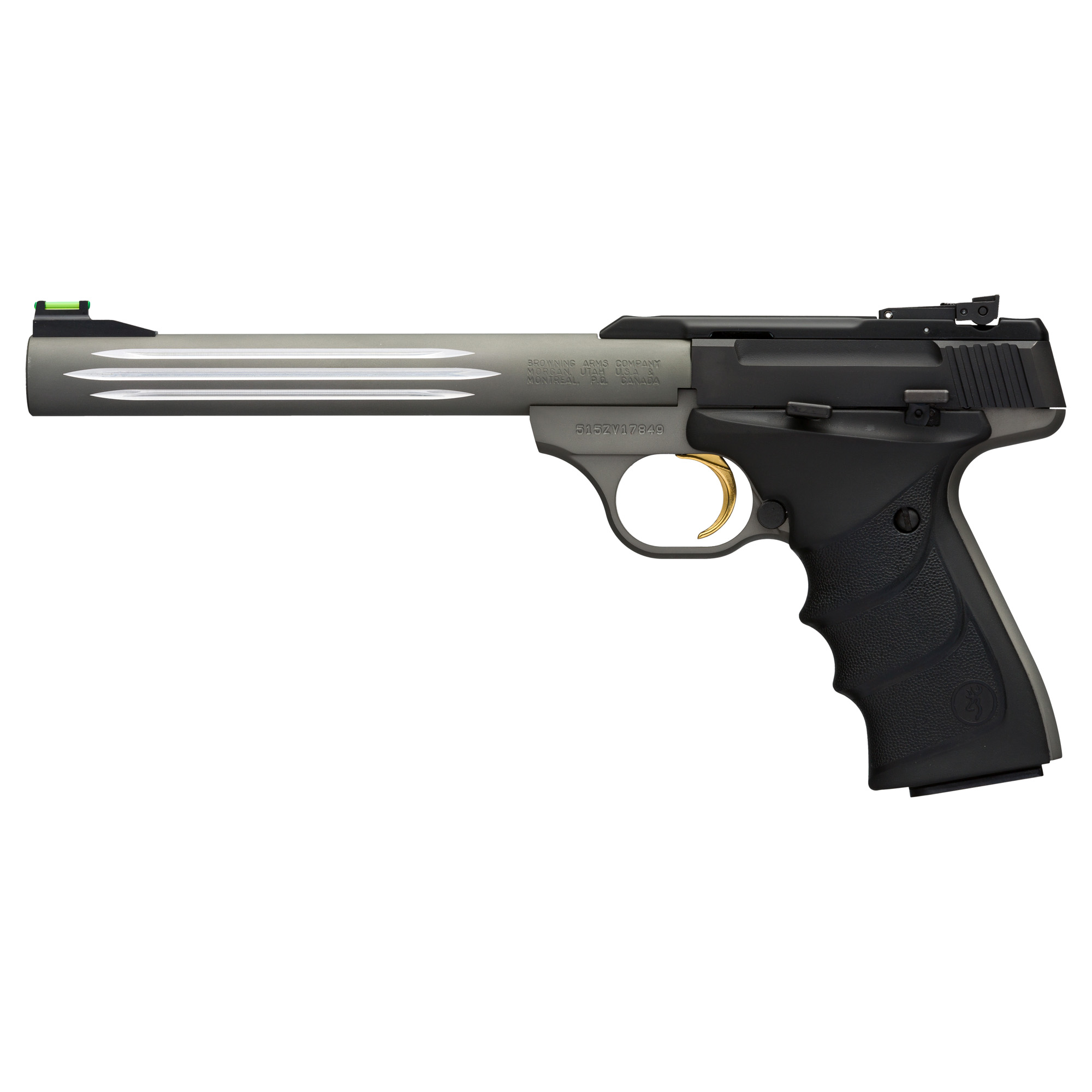 "Brown Bm Lite Gray Urx 22lr 7.25"" Bl"