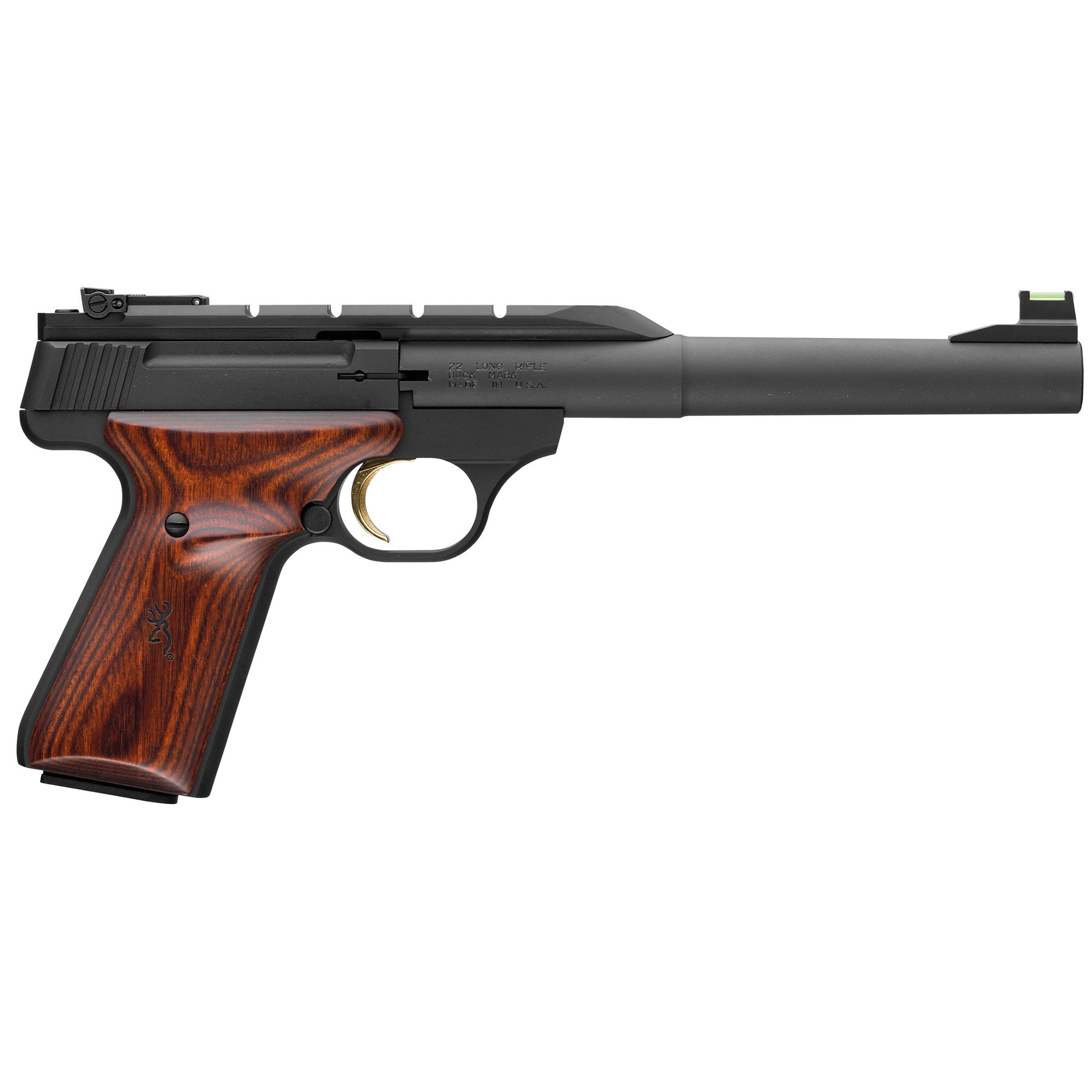 "Brown Bm Hunter 22lr 7.25"" Wlnt/blk"