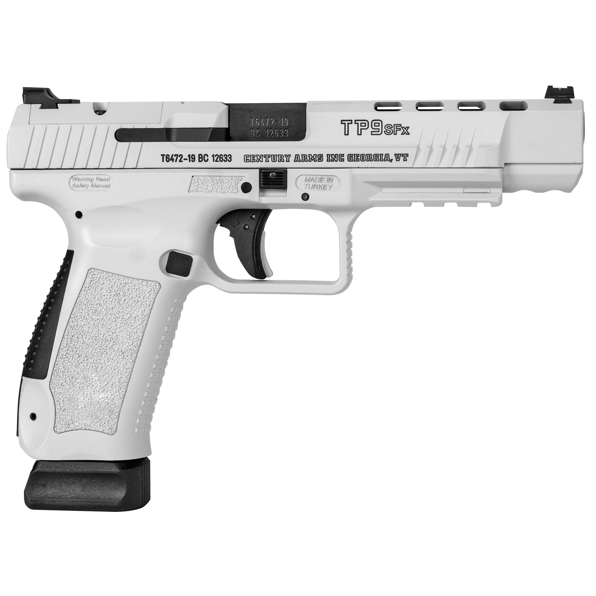 """Canik Tp9sfx 9mm 5.2"""" 20rd Wht Out"""