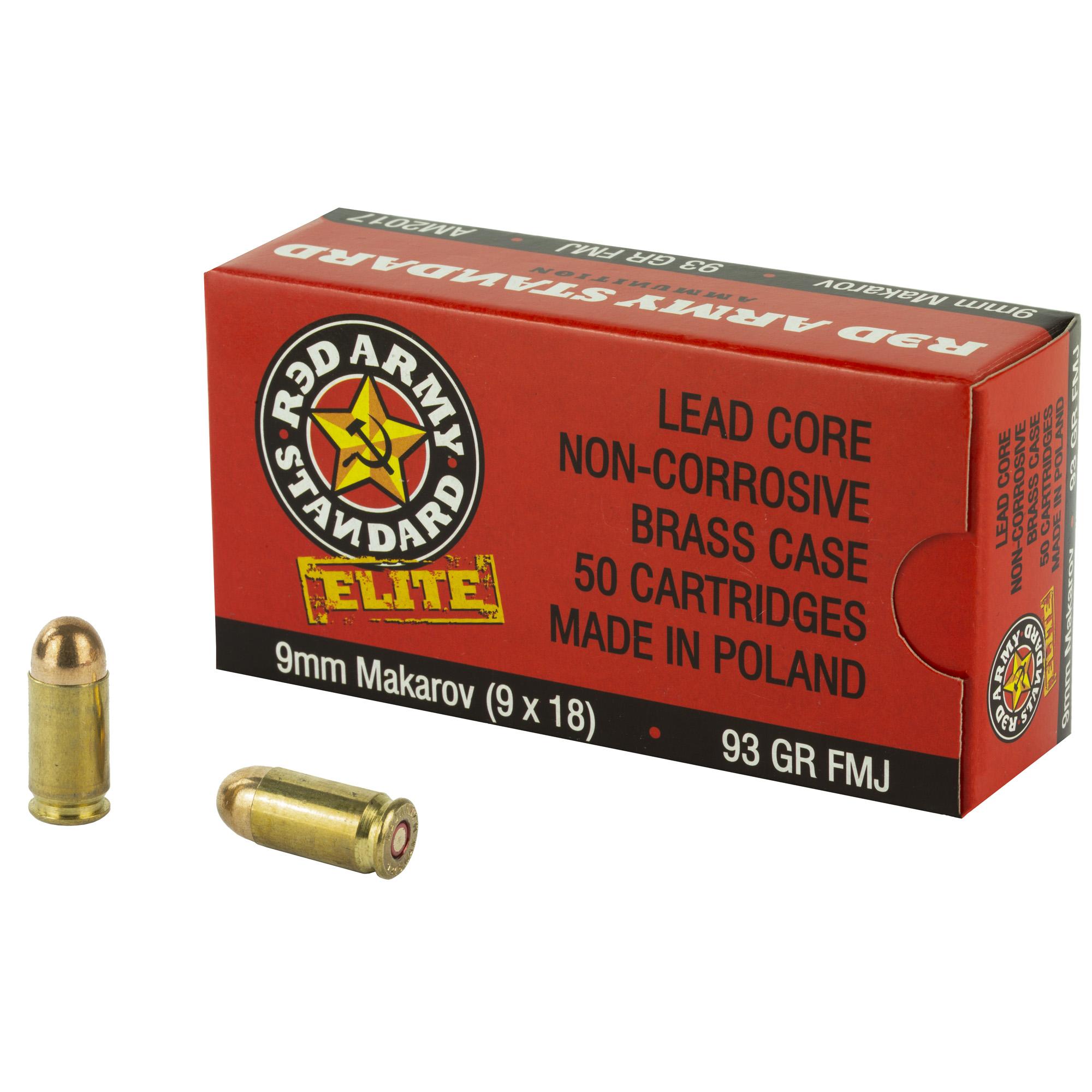 Cent Arms 9mm Mak 93gr Fmj 50/900