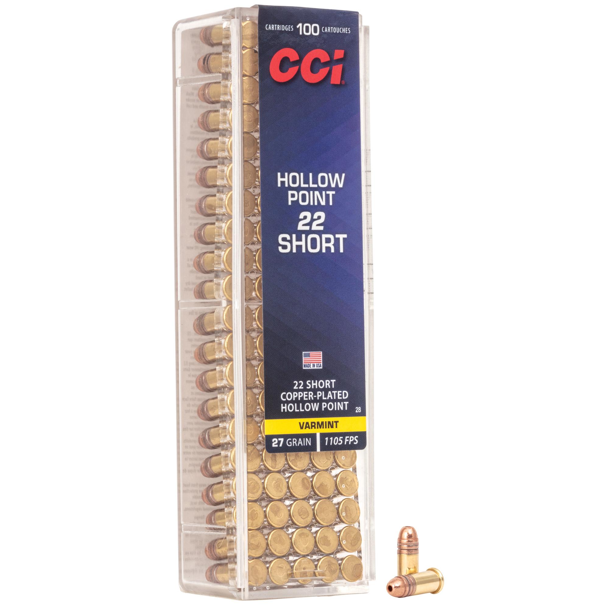 Cci 22 Short Hp 100/5000