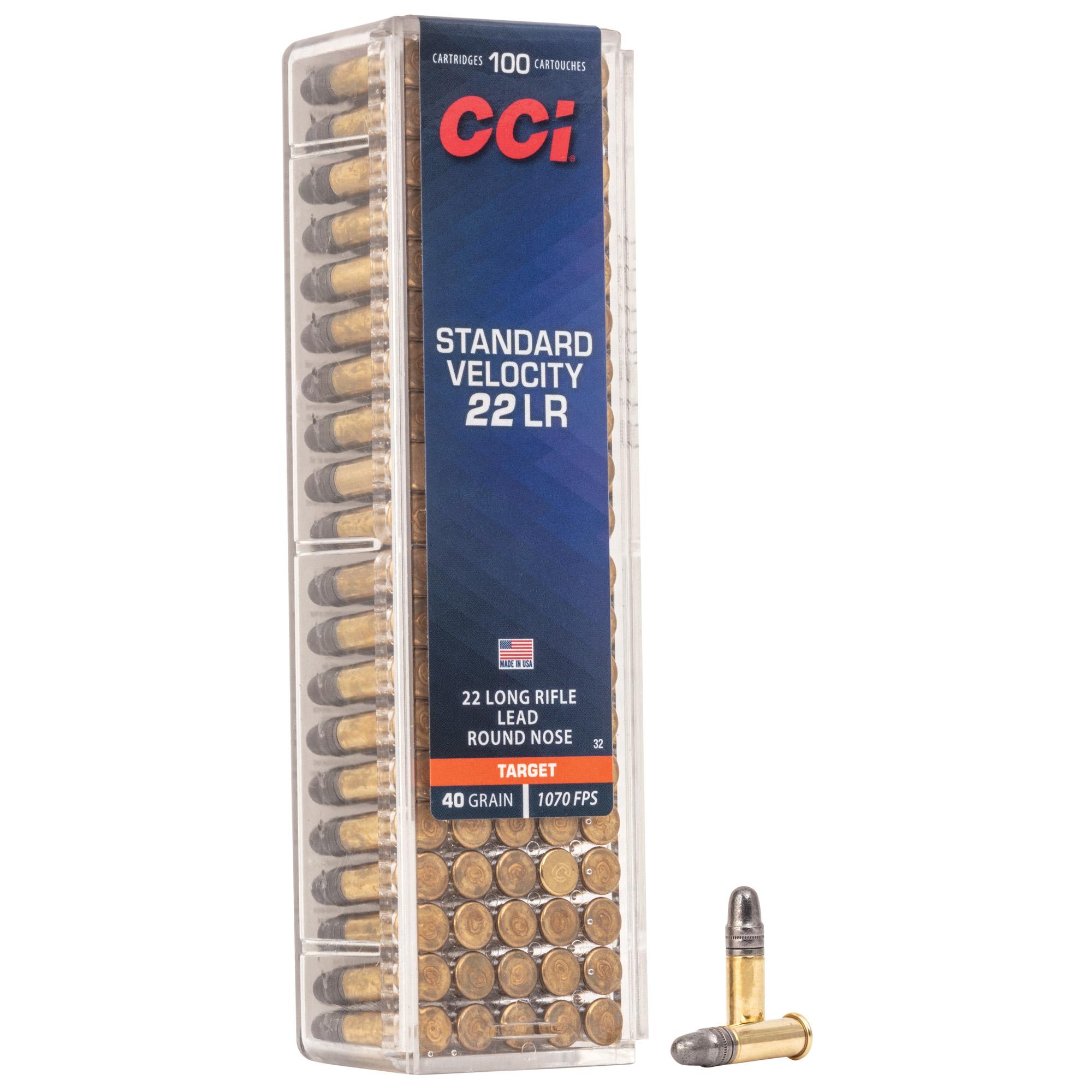 Cci 22lr Standard Velocity 100/5000