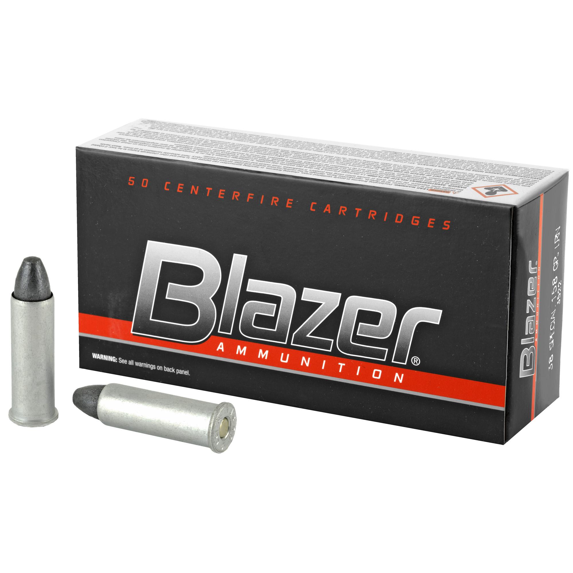 Blazer 38spl 158gr Lrn 50/1000