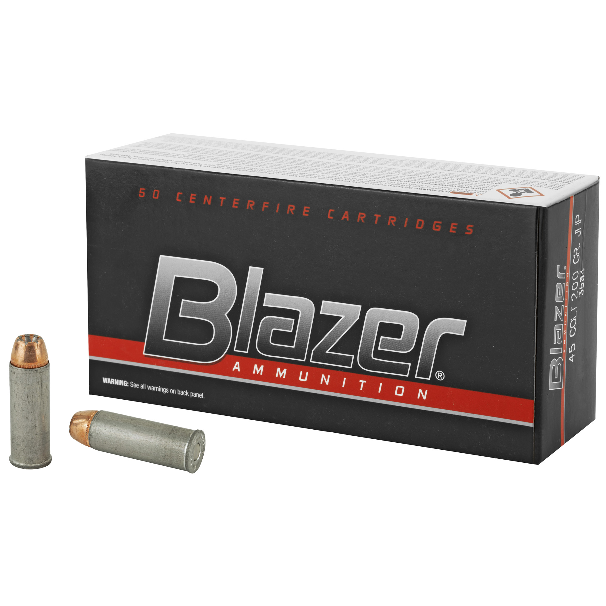 Cci/blazer 45 Colt 200gr Jhp 50/1000