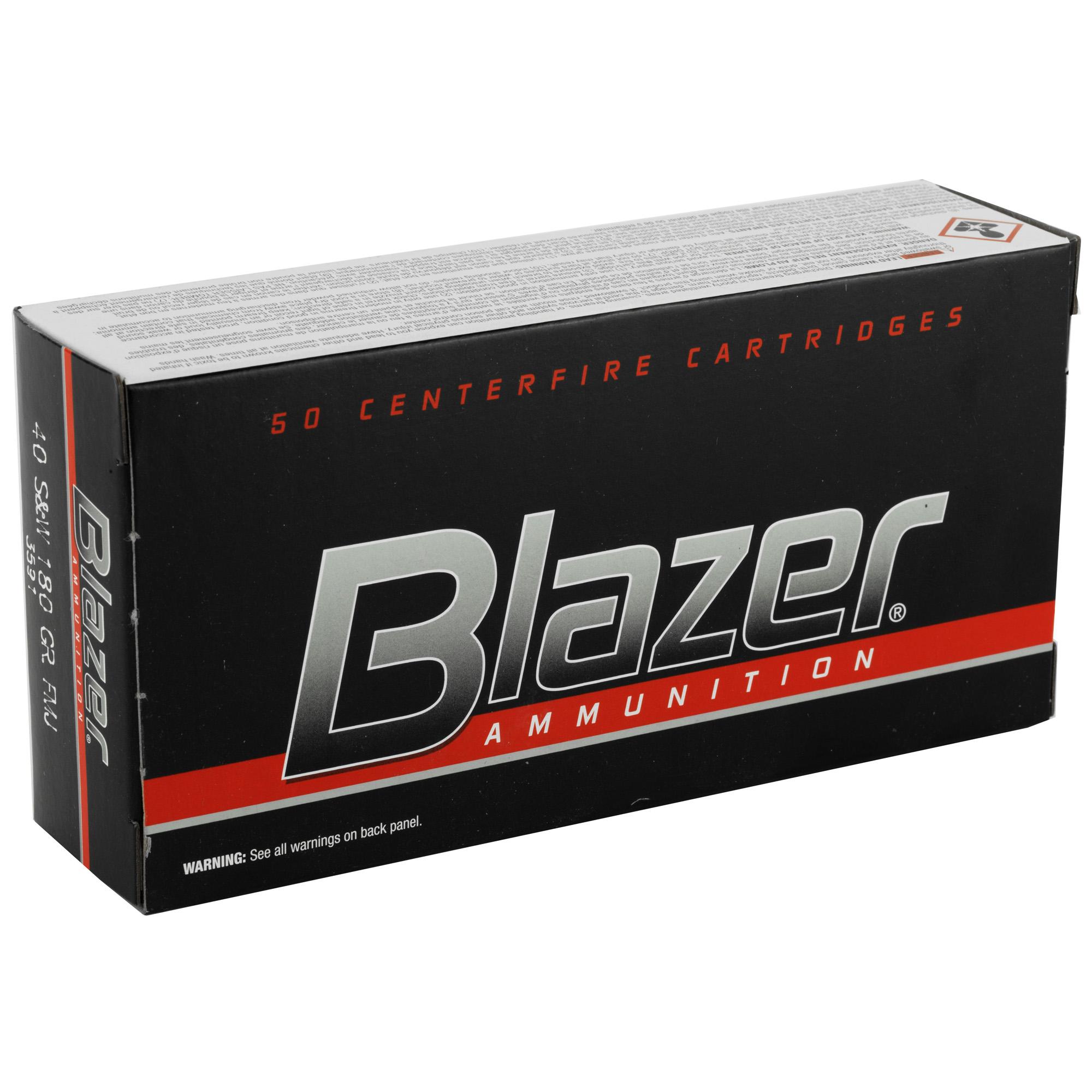 Blazer 40sw 180gr Fmj 50/1000