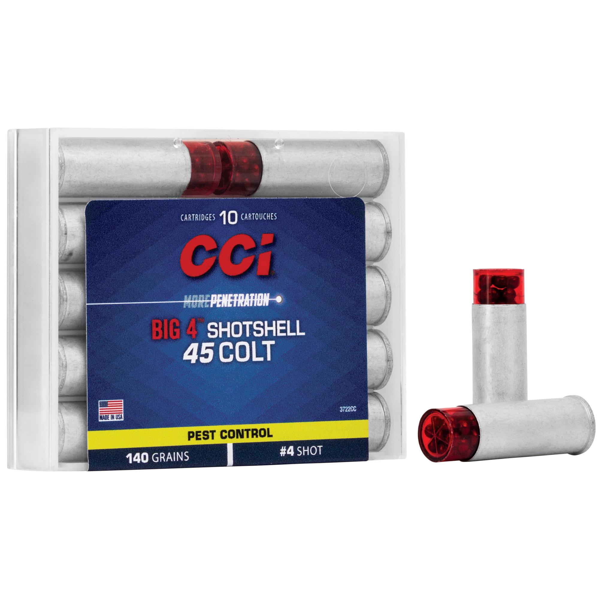 Cci 45lc #4 Shotshell10/200