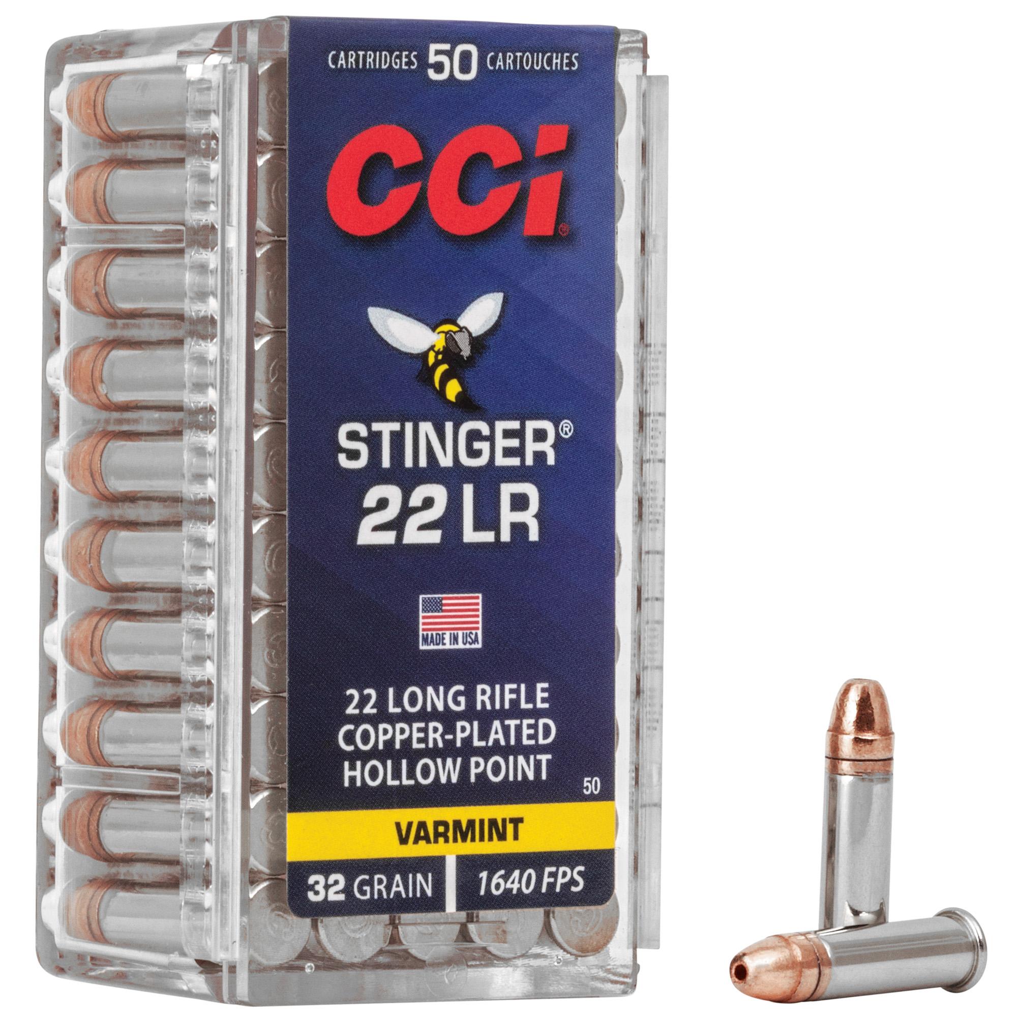 "Cci ""stinger"" 22lr Hp 50/5000"