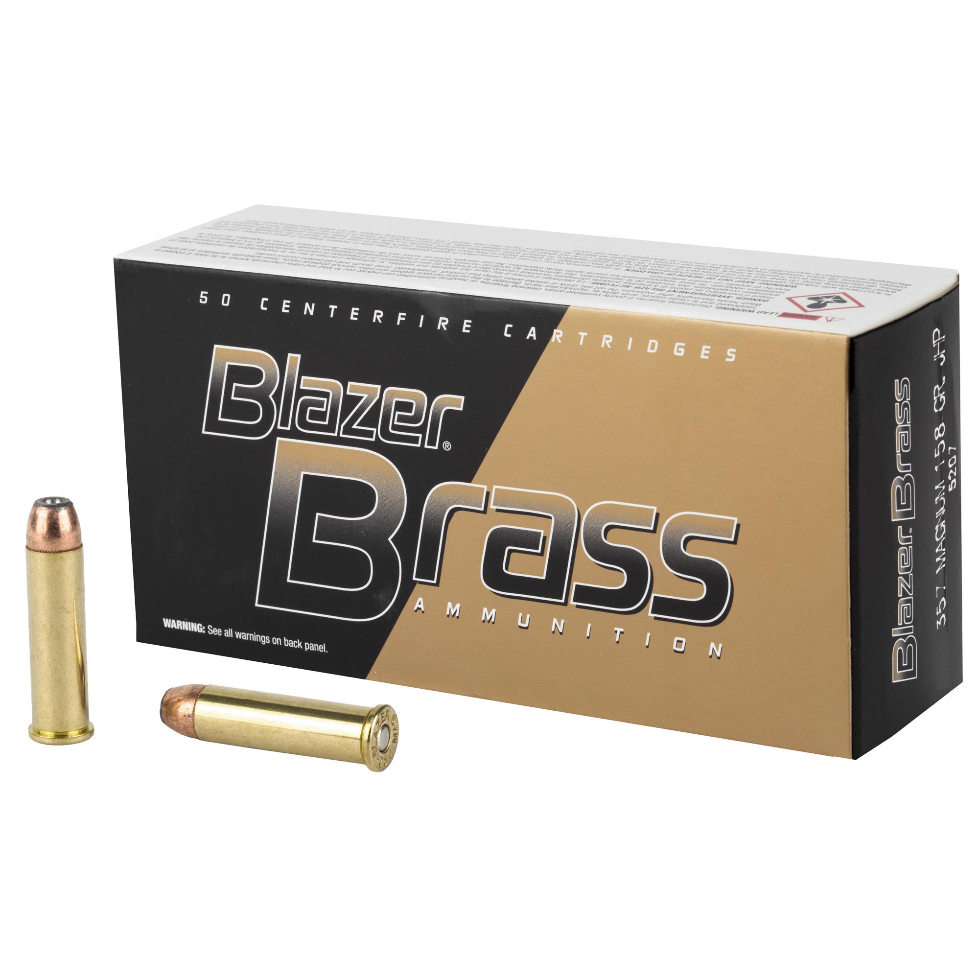 Cci Blazer Brass 357mag 158 50/1000