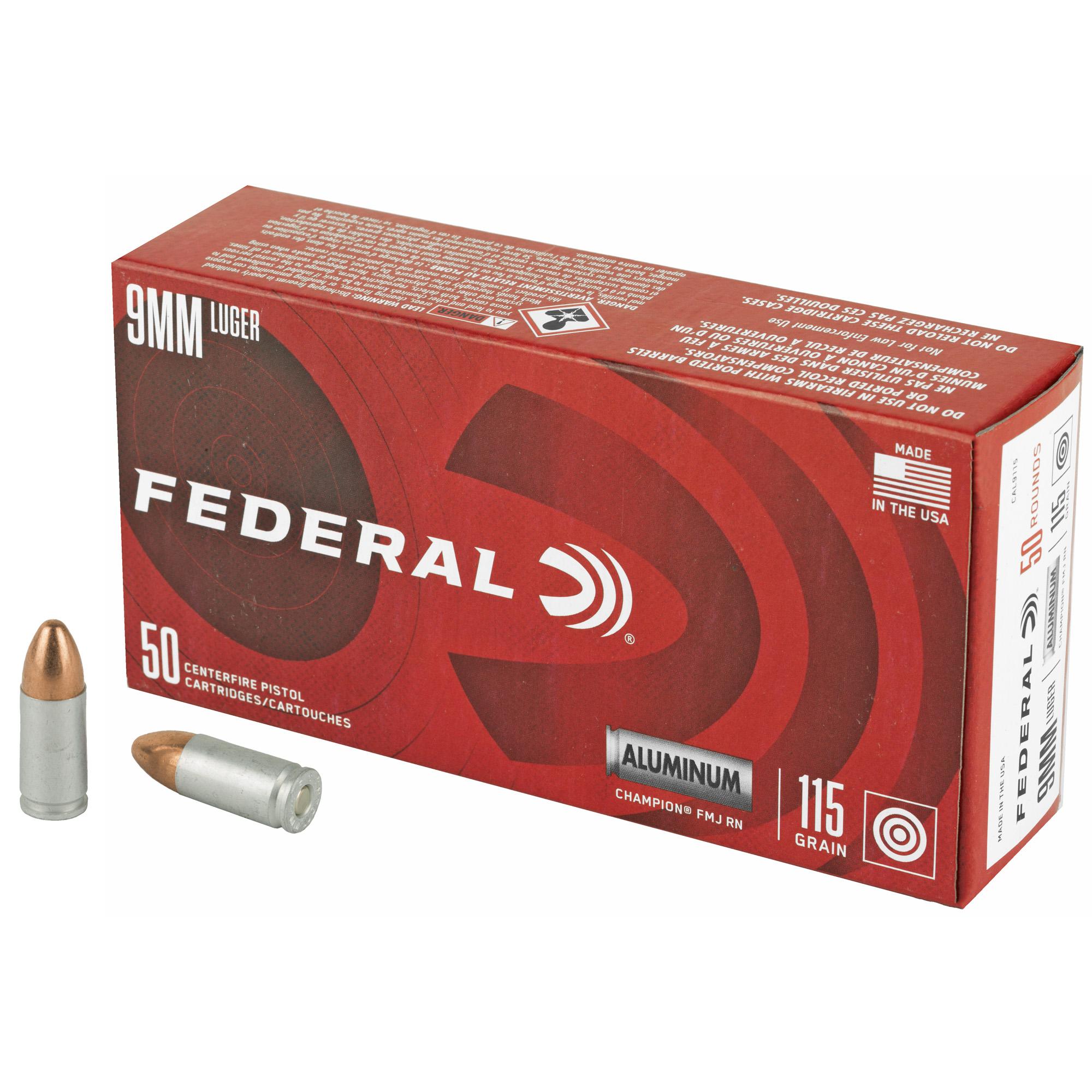 Blazer 9mm 115gr Fmj Alm 50/1000