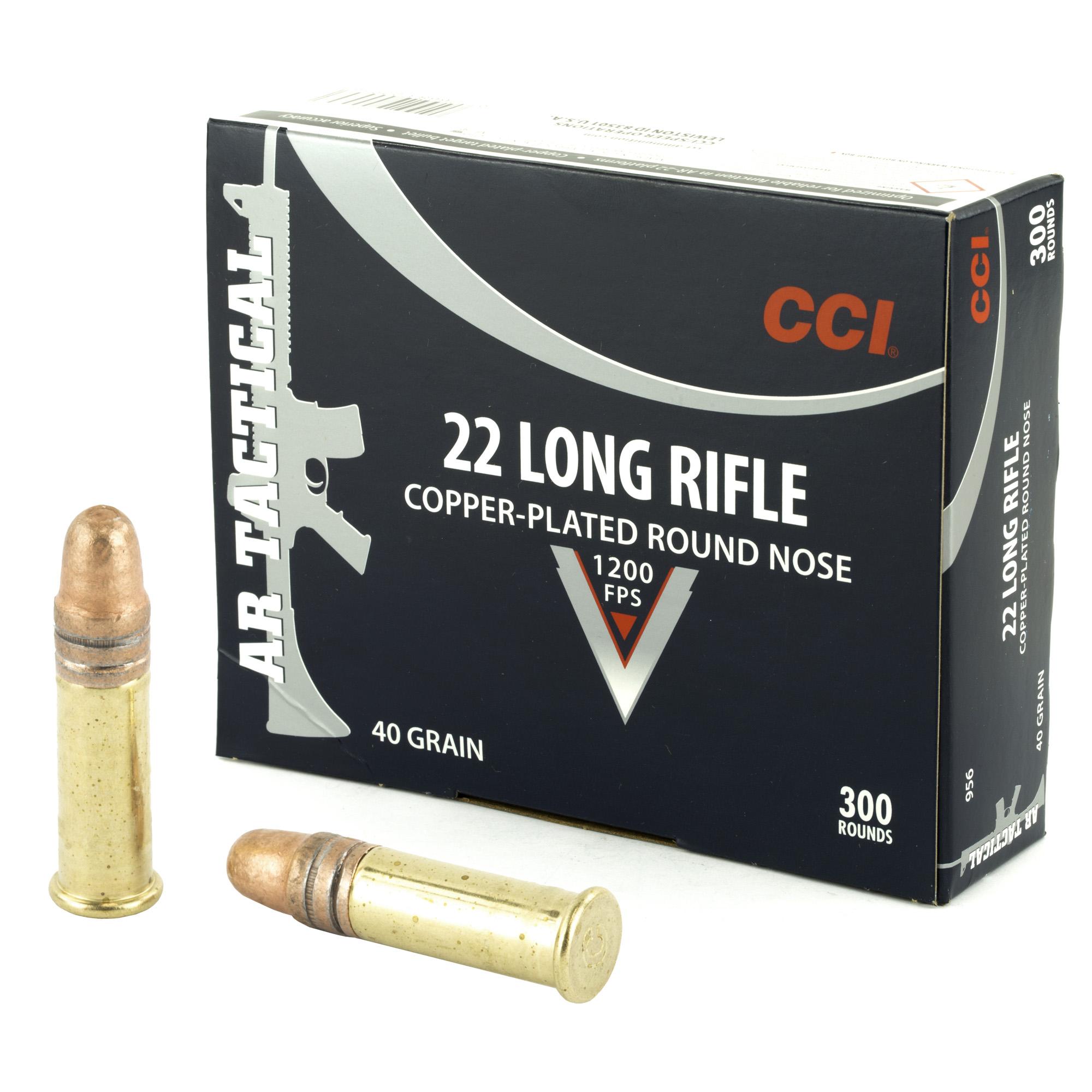 Cci 22lr Tactical 40gr Cprn 300/3000