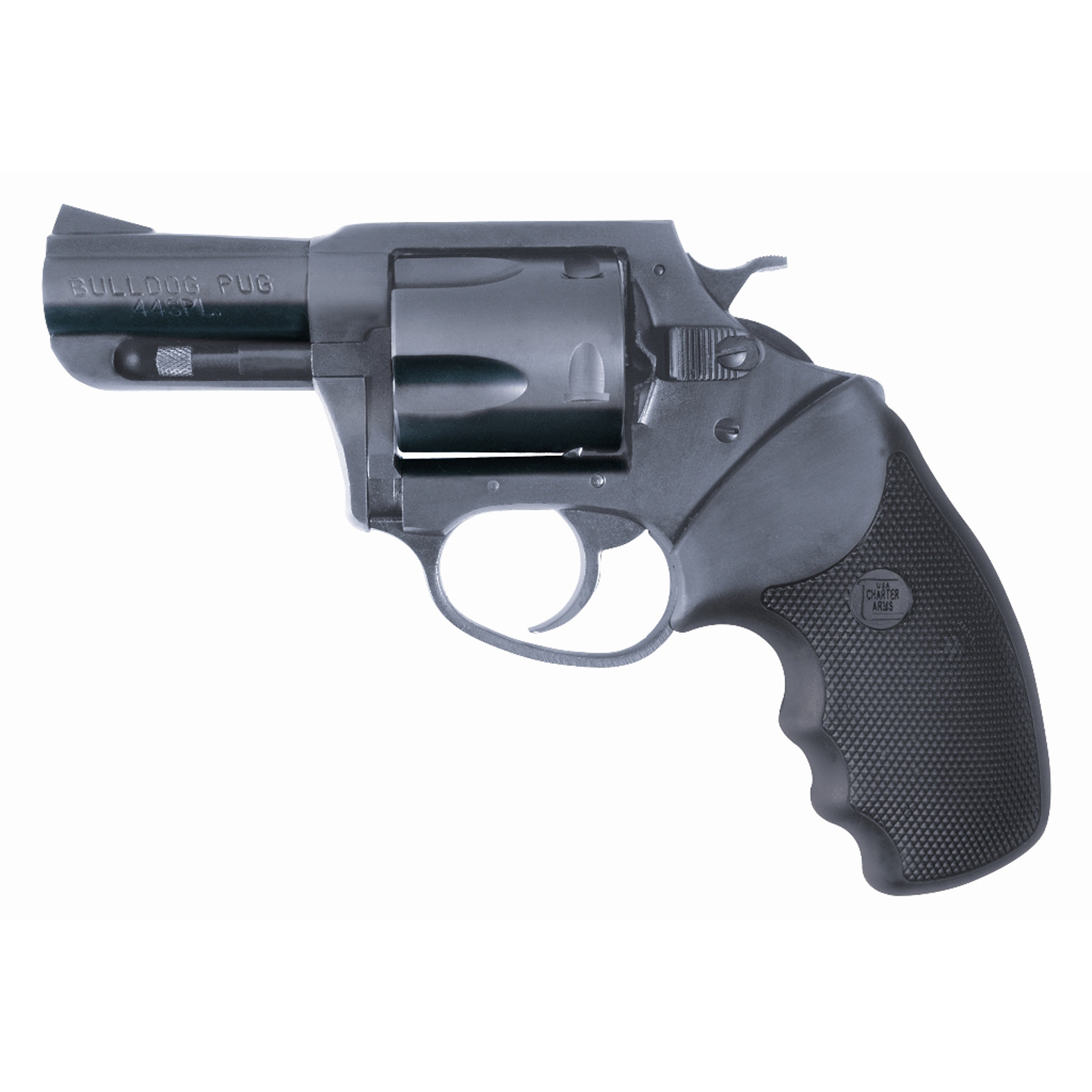 "Charter Arms Bulldog 44spl 2.5"" Bl"