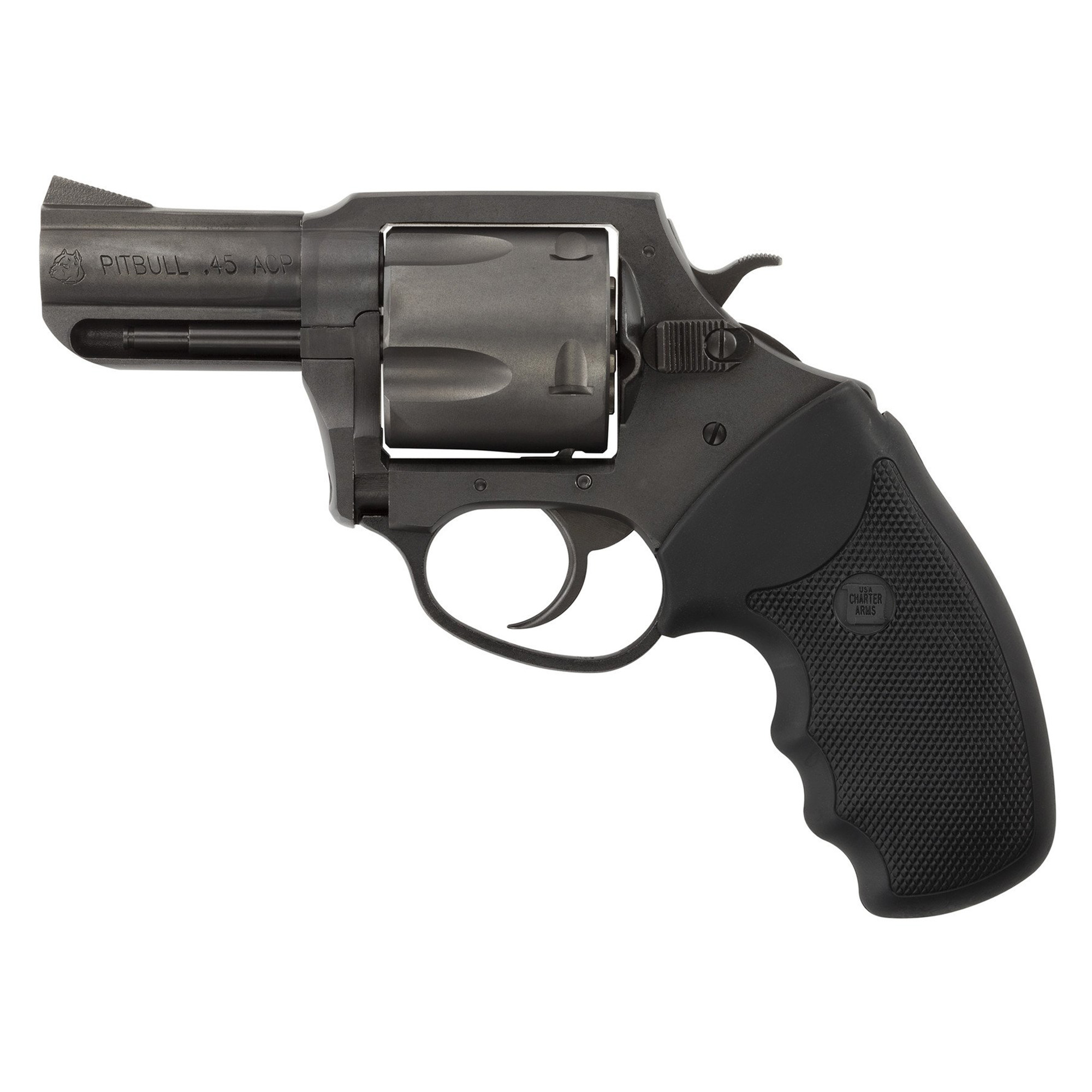 """Charter Arms Pitbull 45acp 2.5"""" 5rd"""