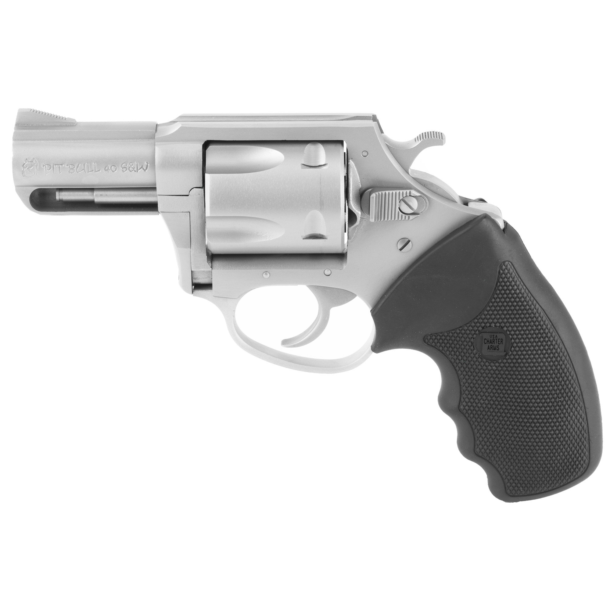 """Charter Arms Pitbull 40s&w 2.5"""" Ss"""