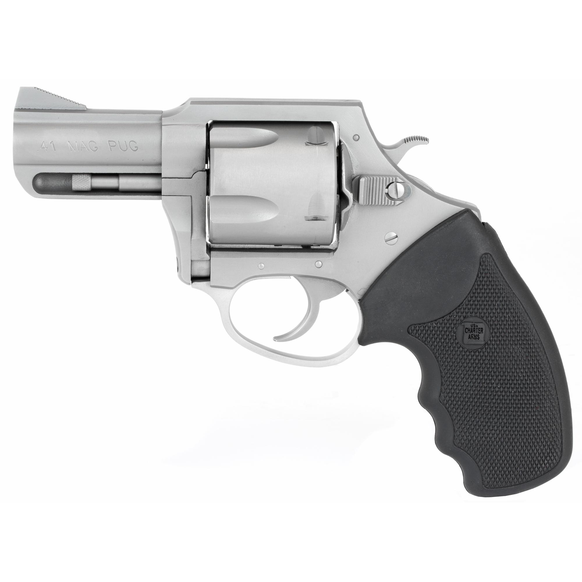 """Charter Arms Mag Pug .41mag 2.5"""" Ss"""