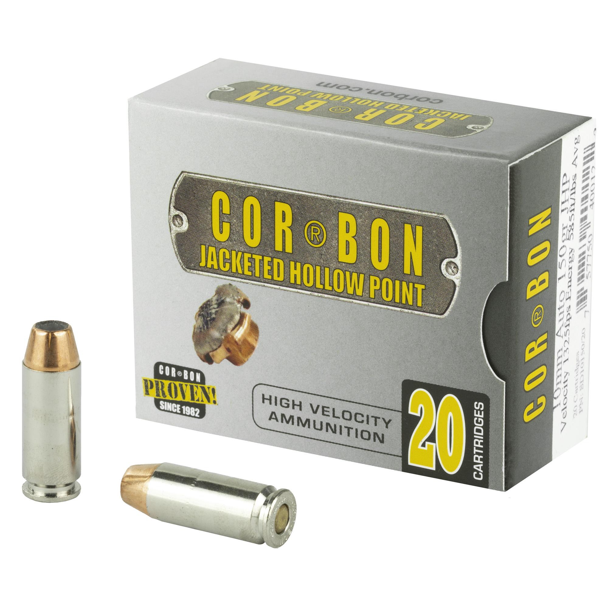 Corbon 10mm 150gr Jhp 20/500